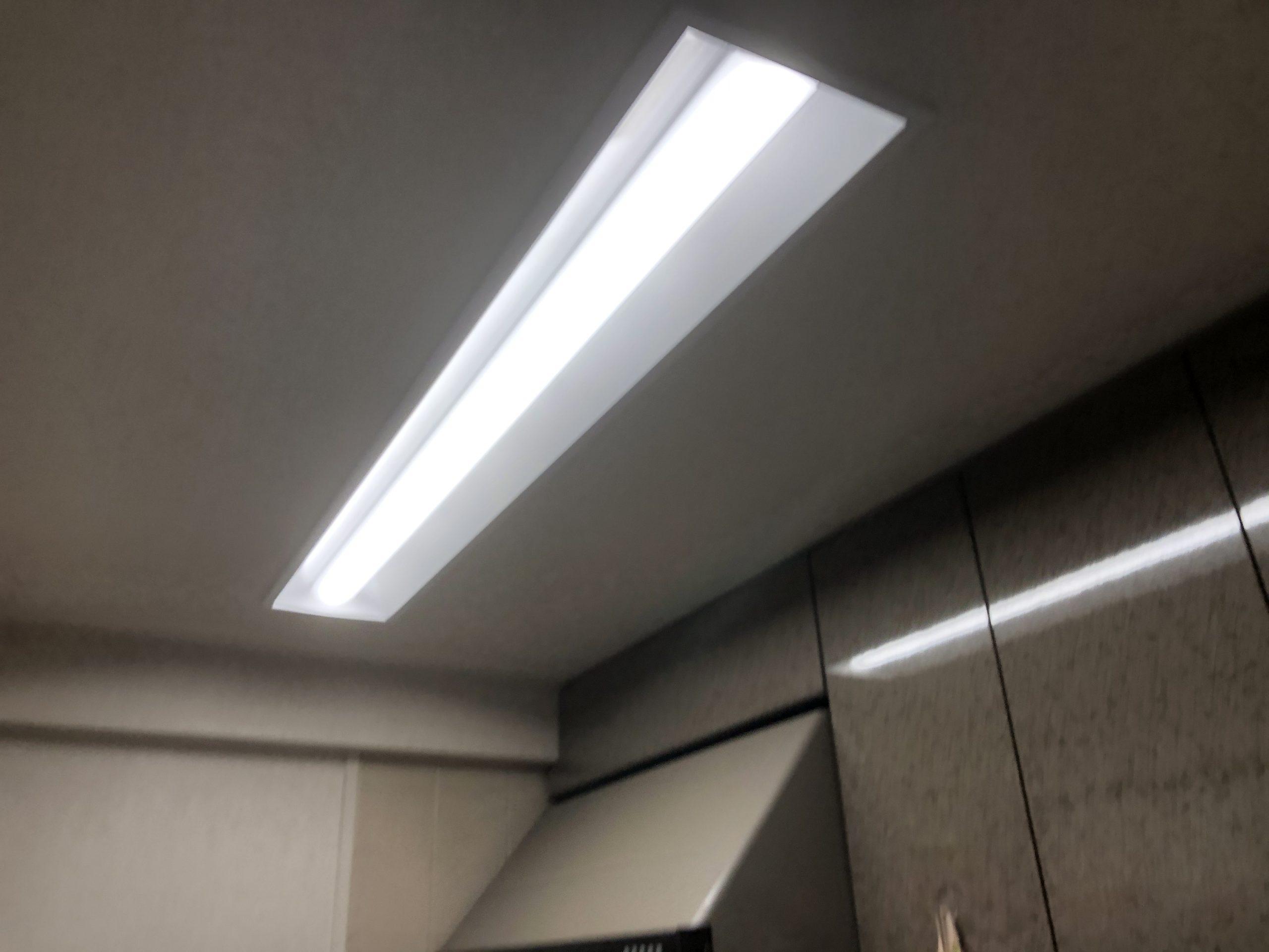阿倍野区 照明 施工後