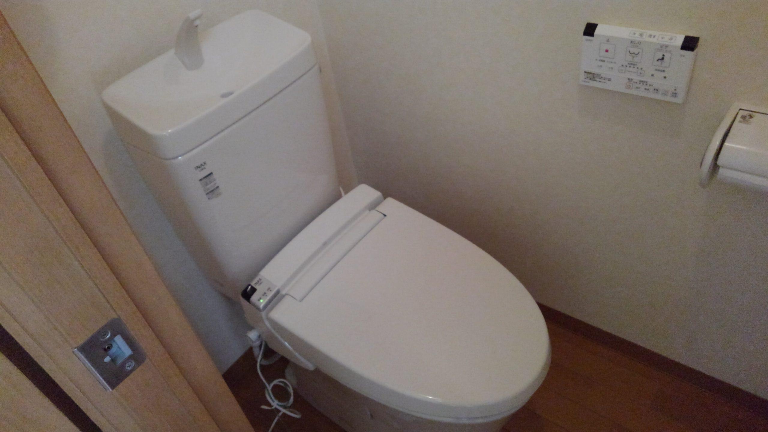 中央区 トイレ 施工後