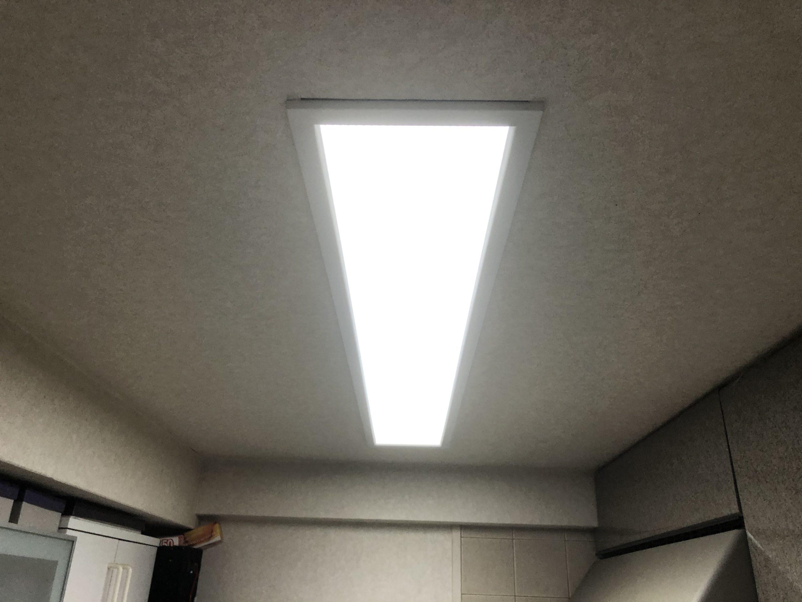 阿倍野区 照明 施工前