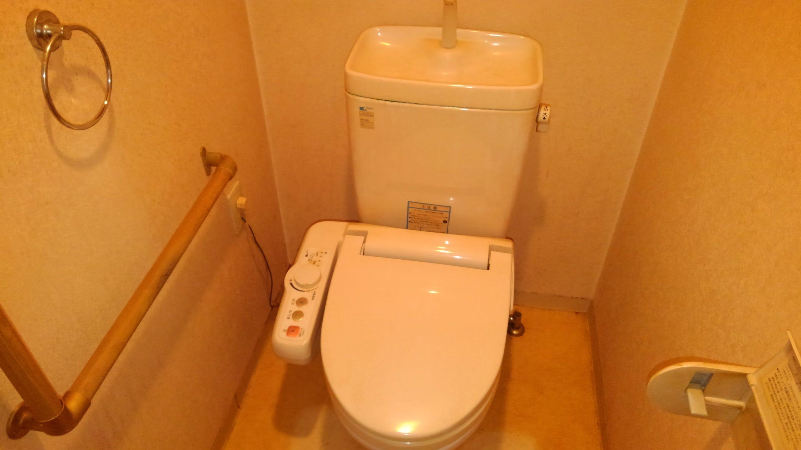 天王寺区 トイレ 施工前②