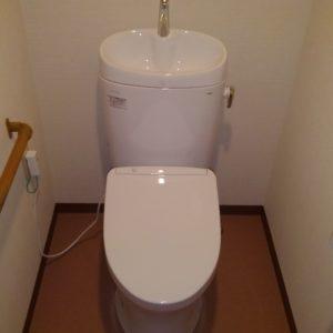 天王寺区 トイレ 施工後①