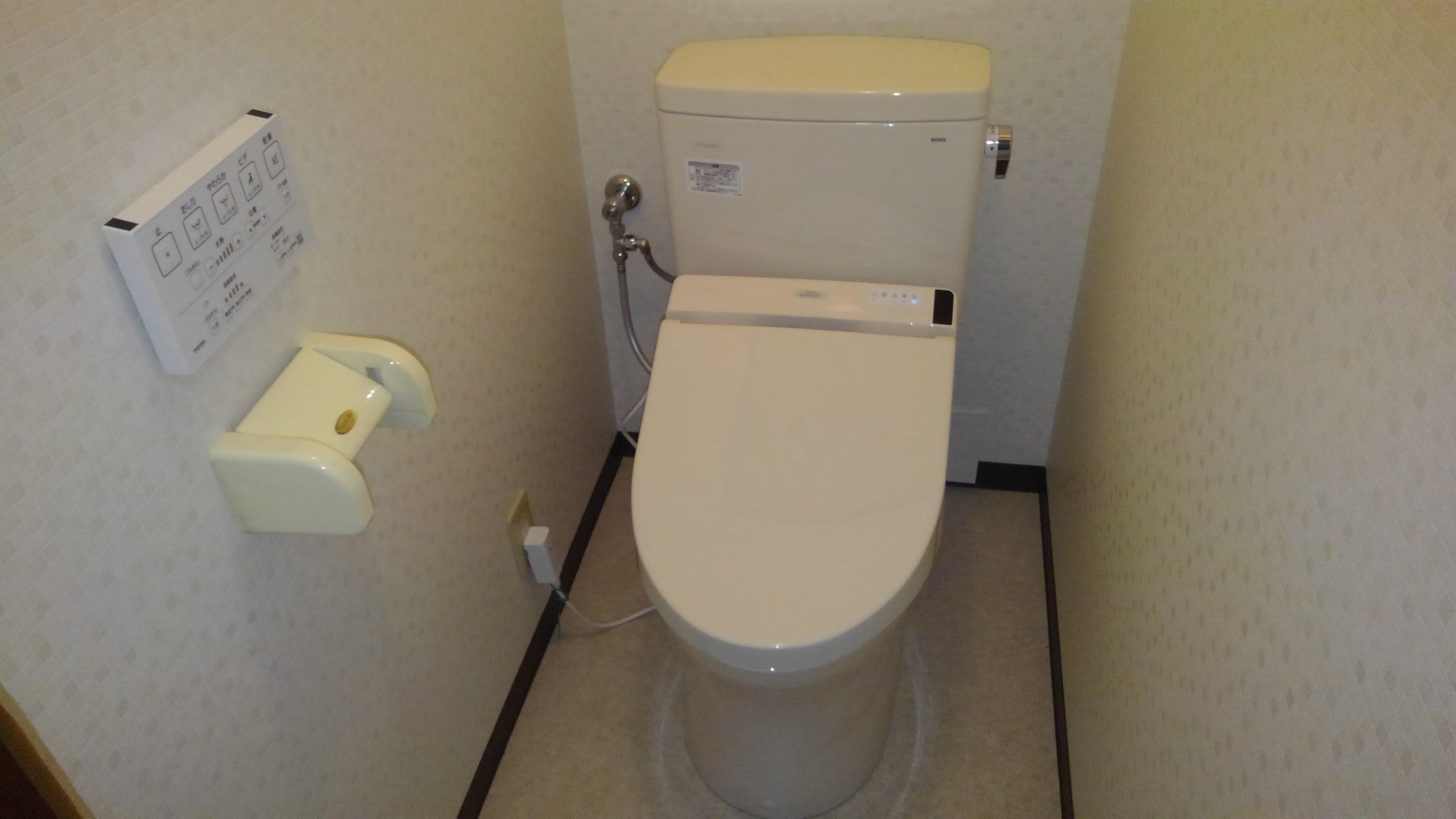 阿倍野区 トイレ 施工後②