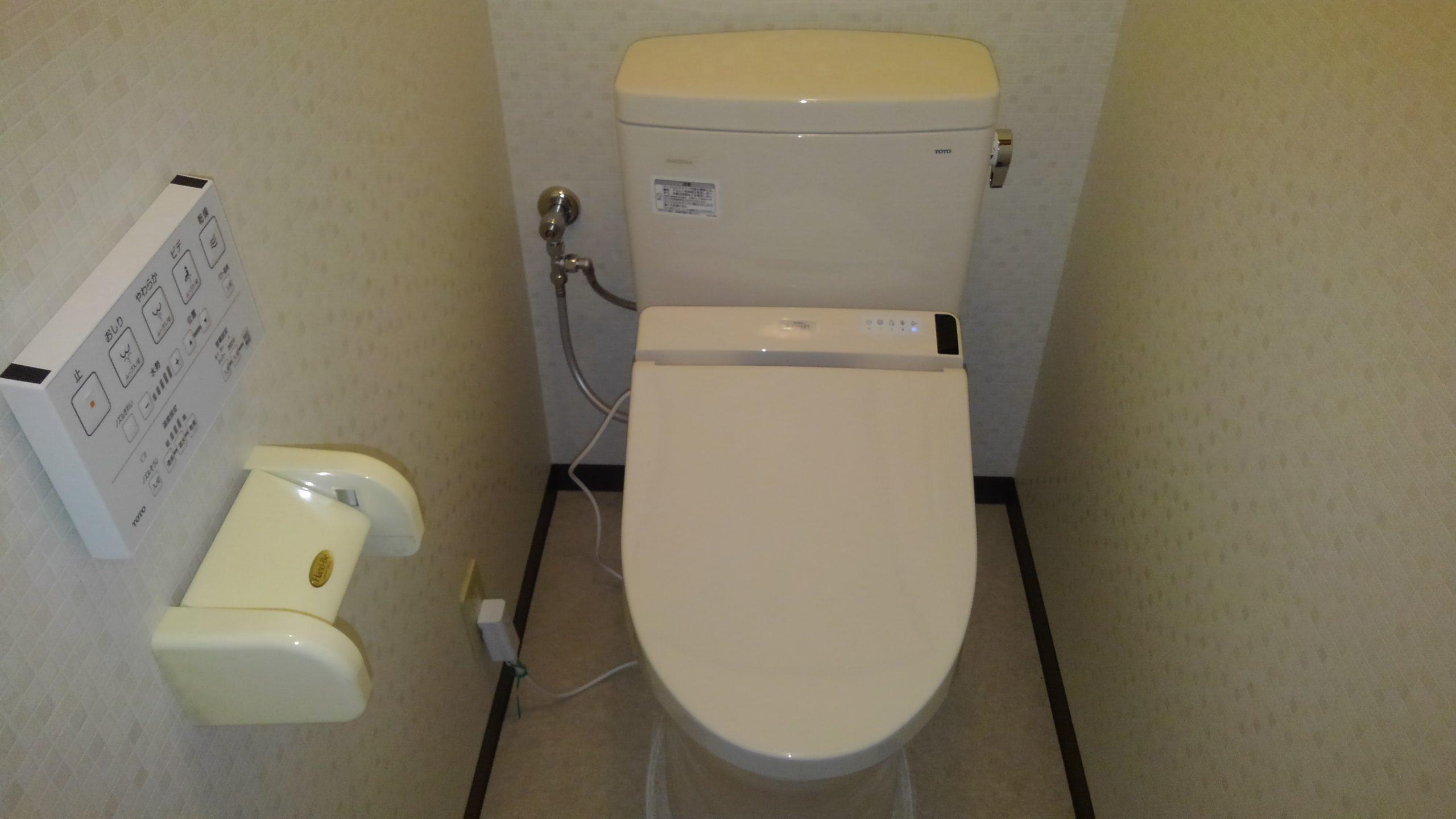 阿倍野区 トイレ 施工後①