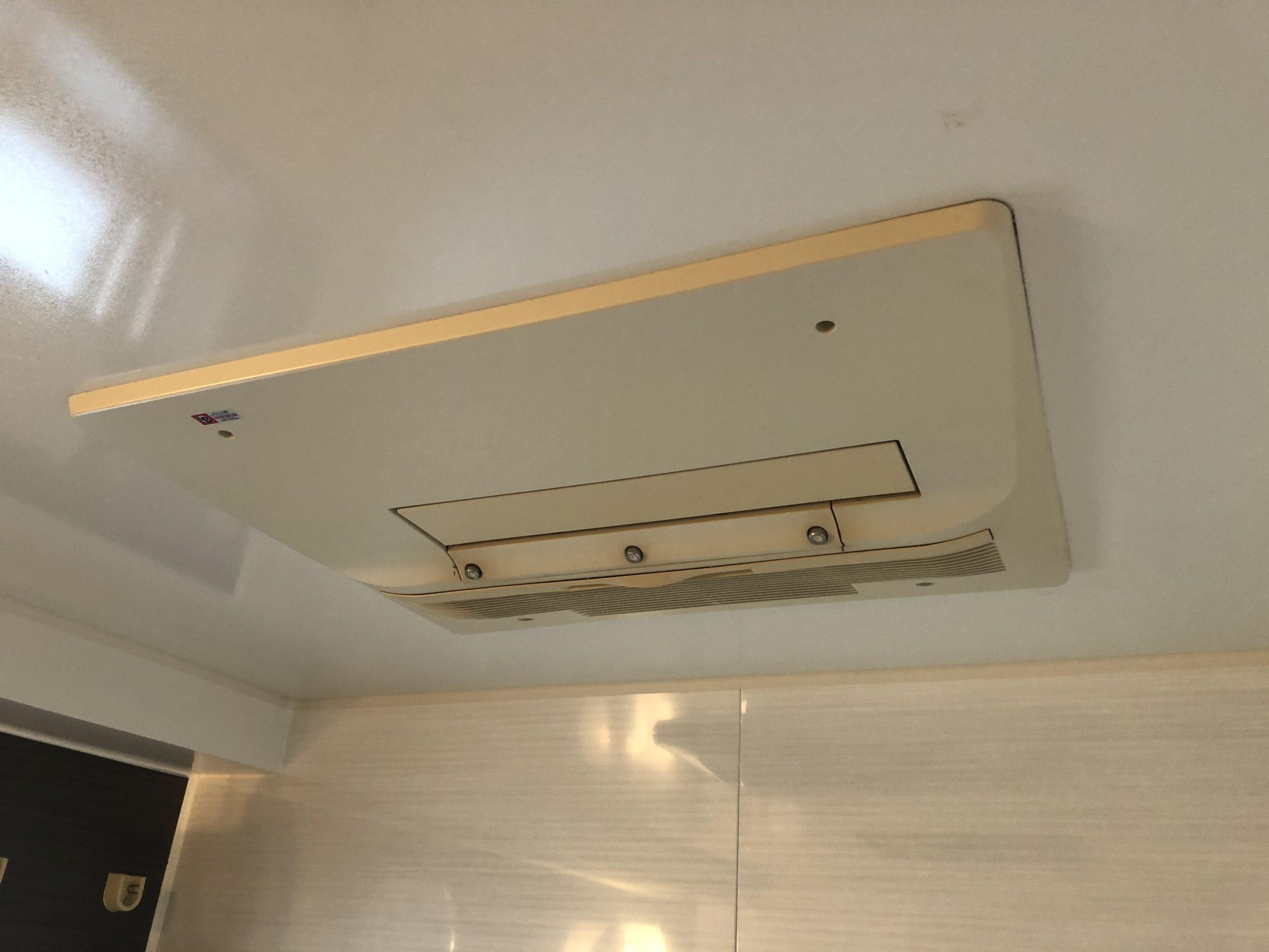 阿倍野区 浴室暖房乾燥機 施工前②