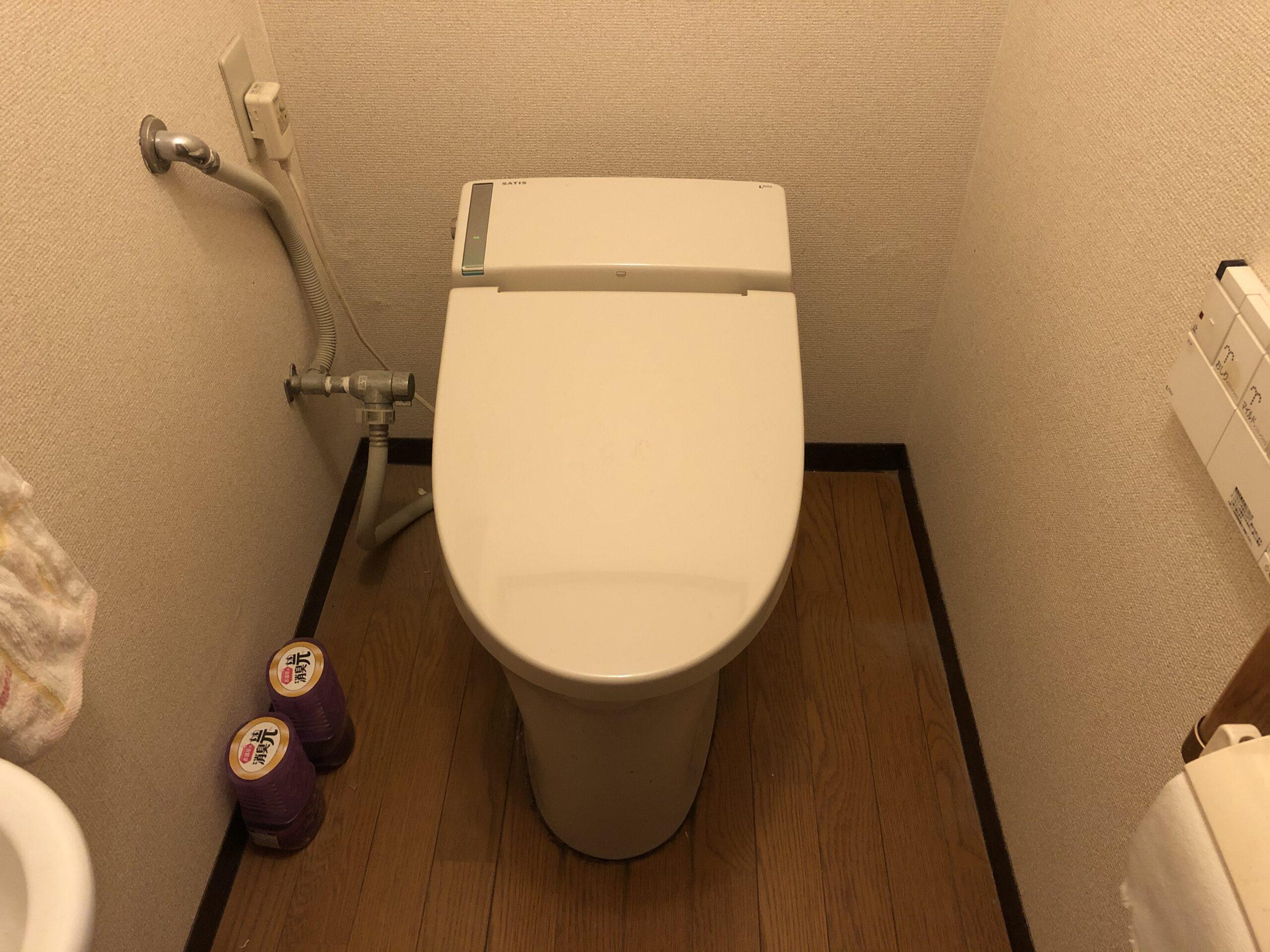 生野区 洋式トイレ 施工前①