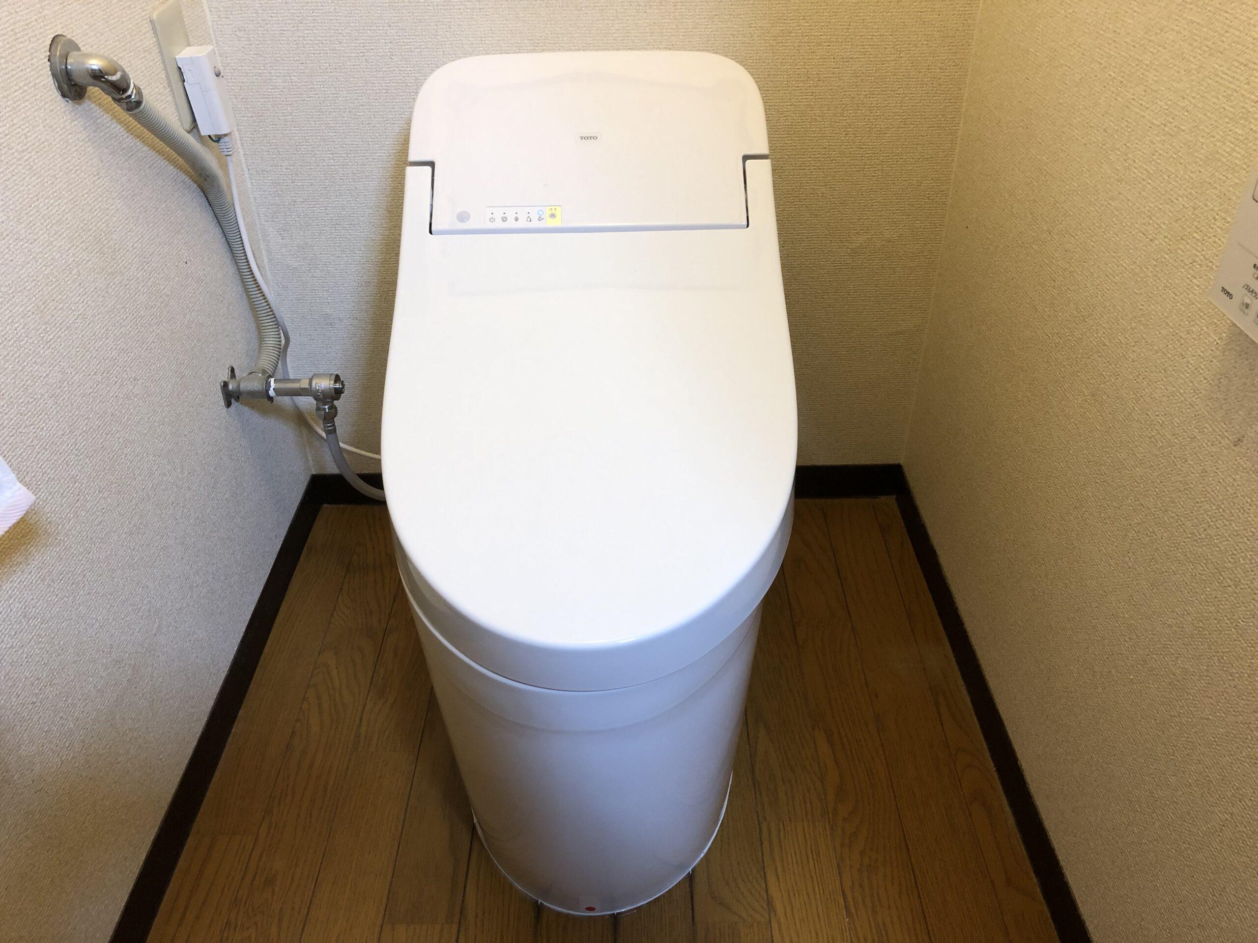 生野区 洋式トイレ 施工後①