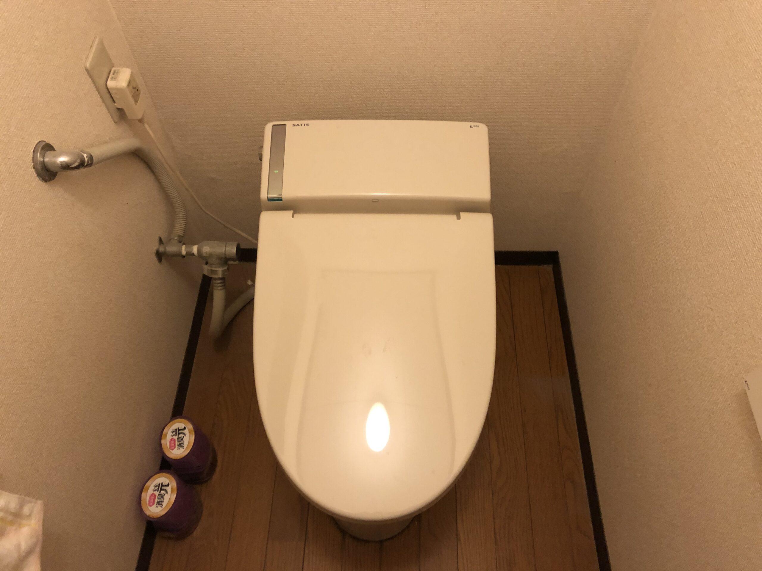 生野区 洋式トイレ 施工前②