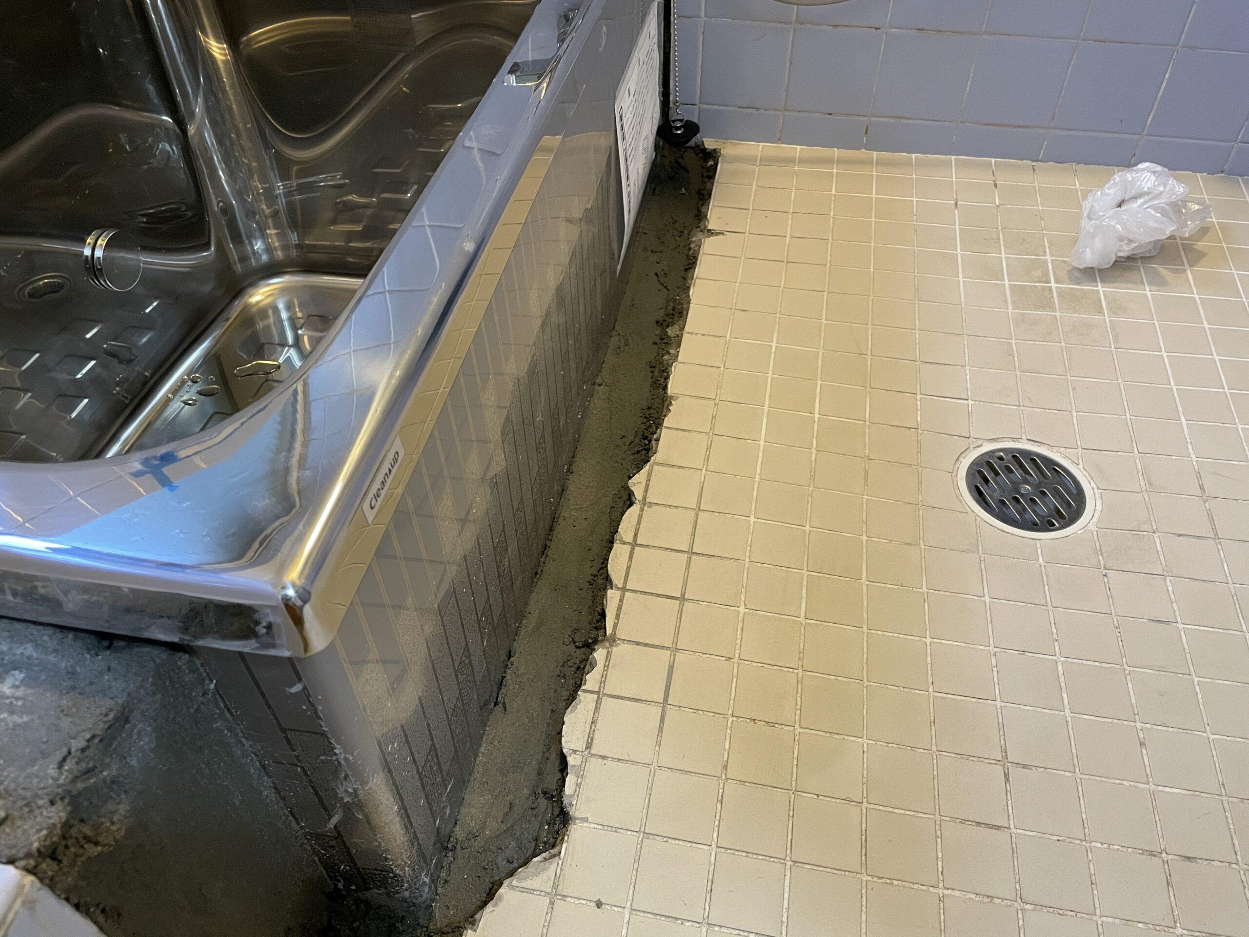 阿倍野区 浴槽取替 施工前⑨