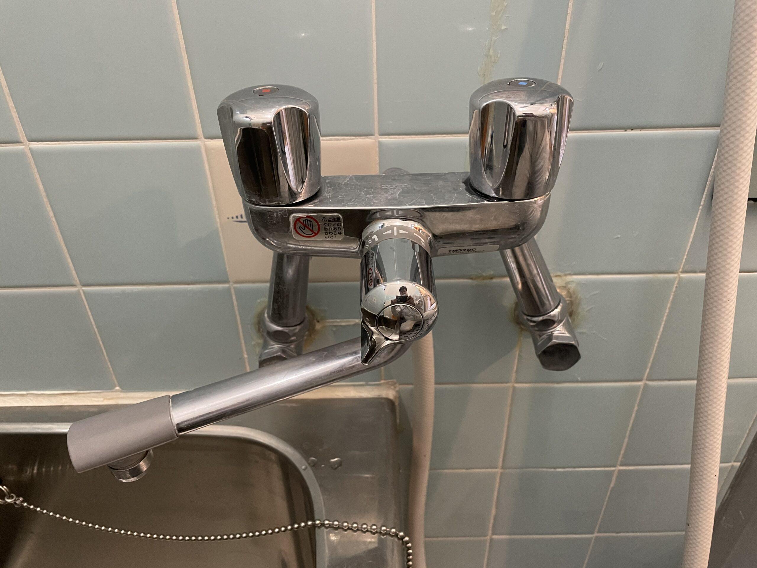 東住吉区 浴室用蛇口 施工前②