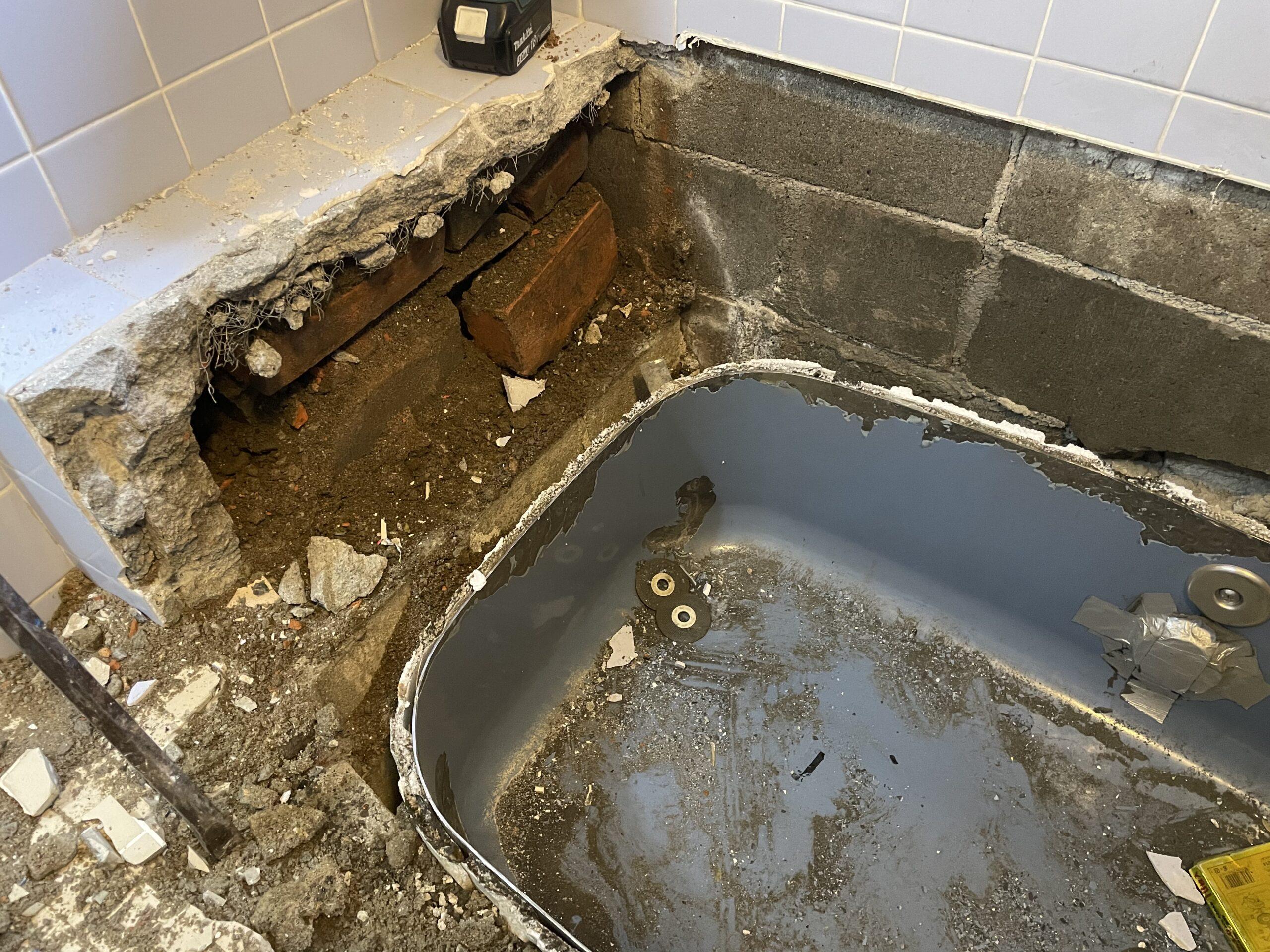 阿倍野区 浴槽取替 施工前②