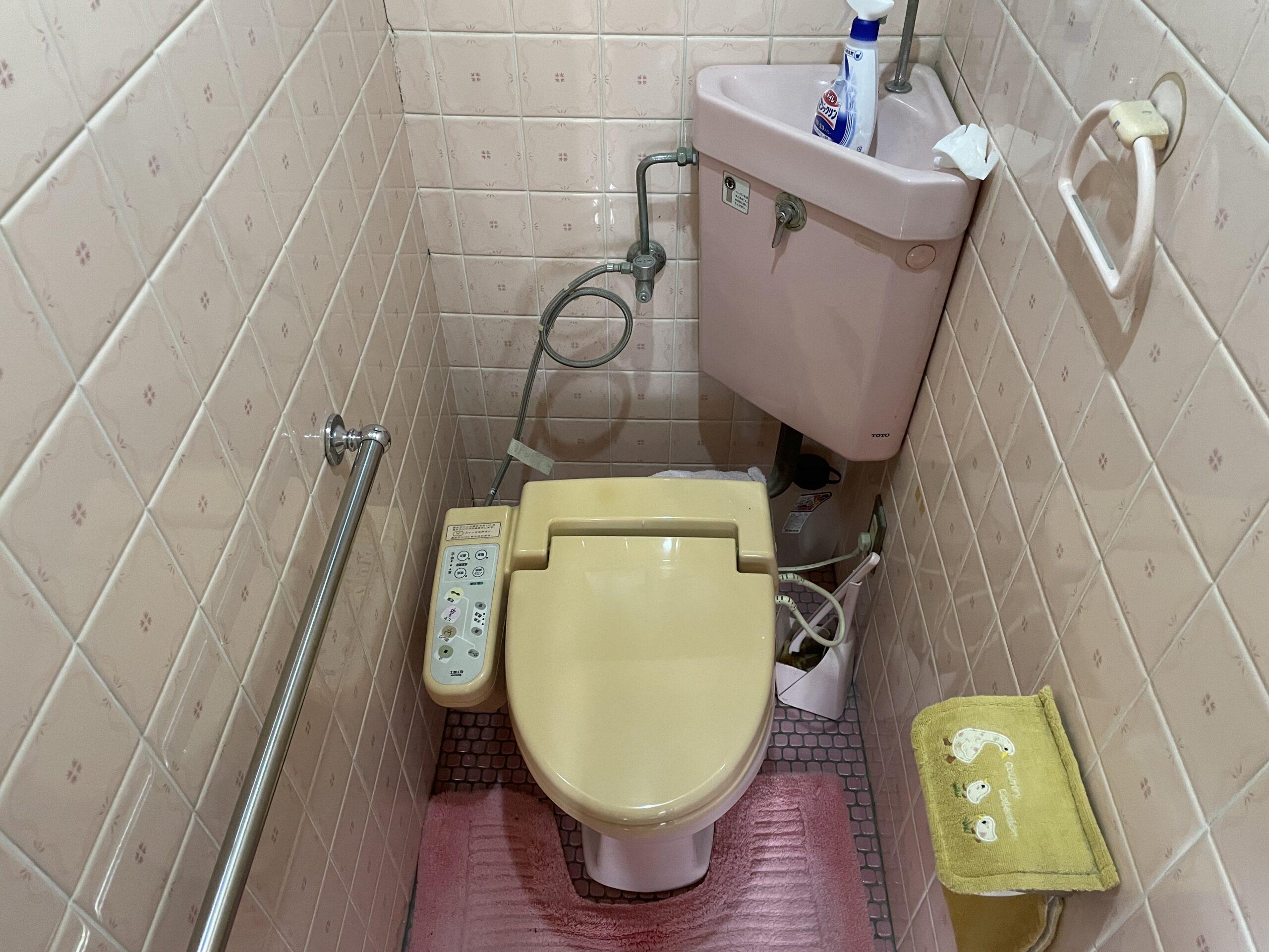 東住吉区 洋式トイレ取替 施工前①
