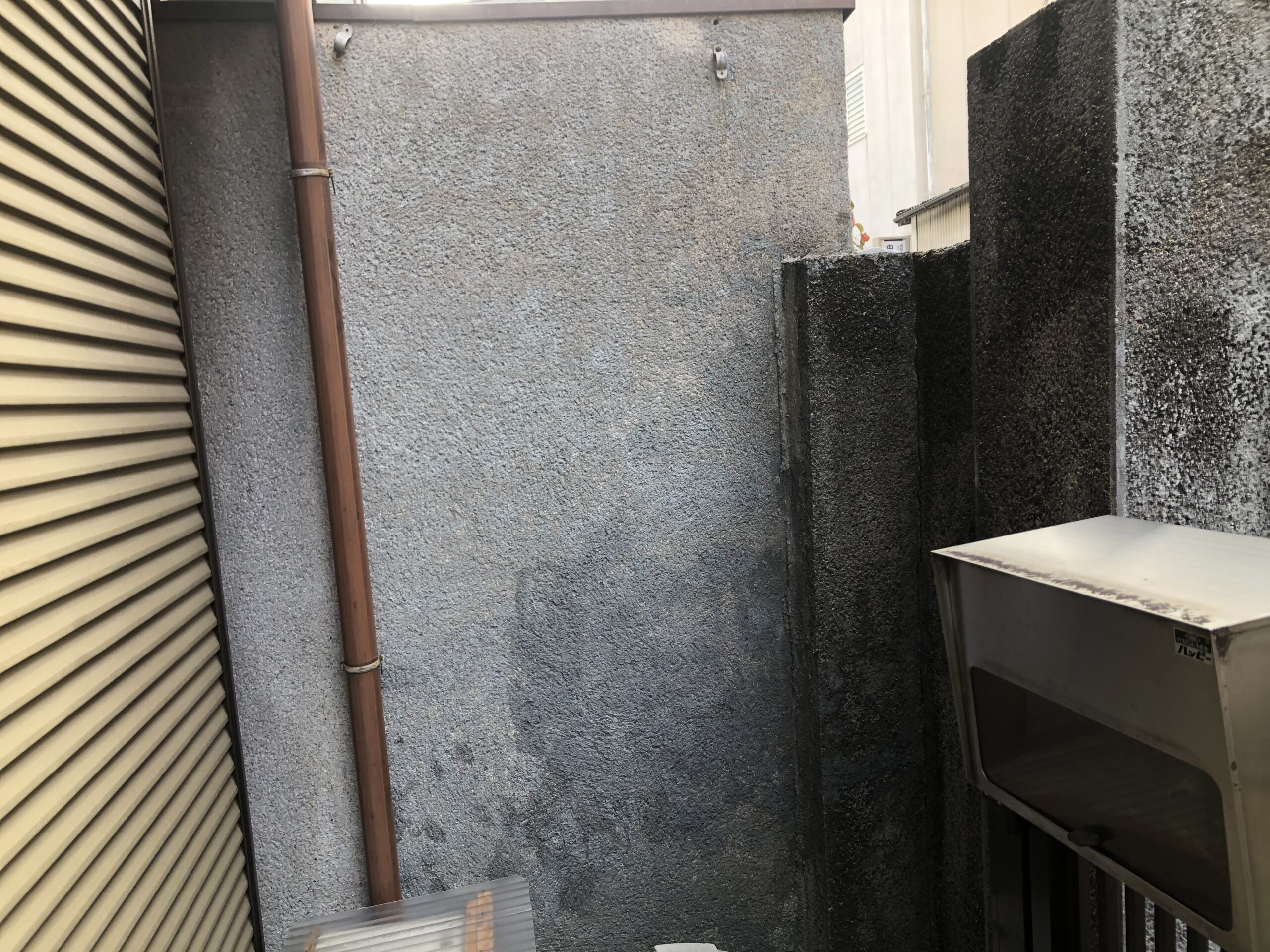 阿倍野区 外塀塗装 施工前②
