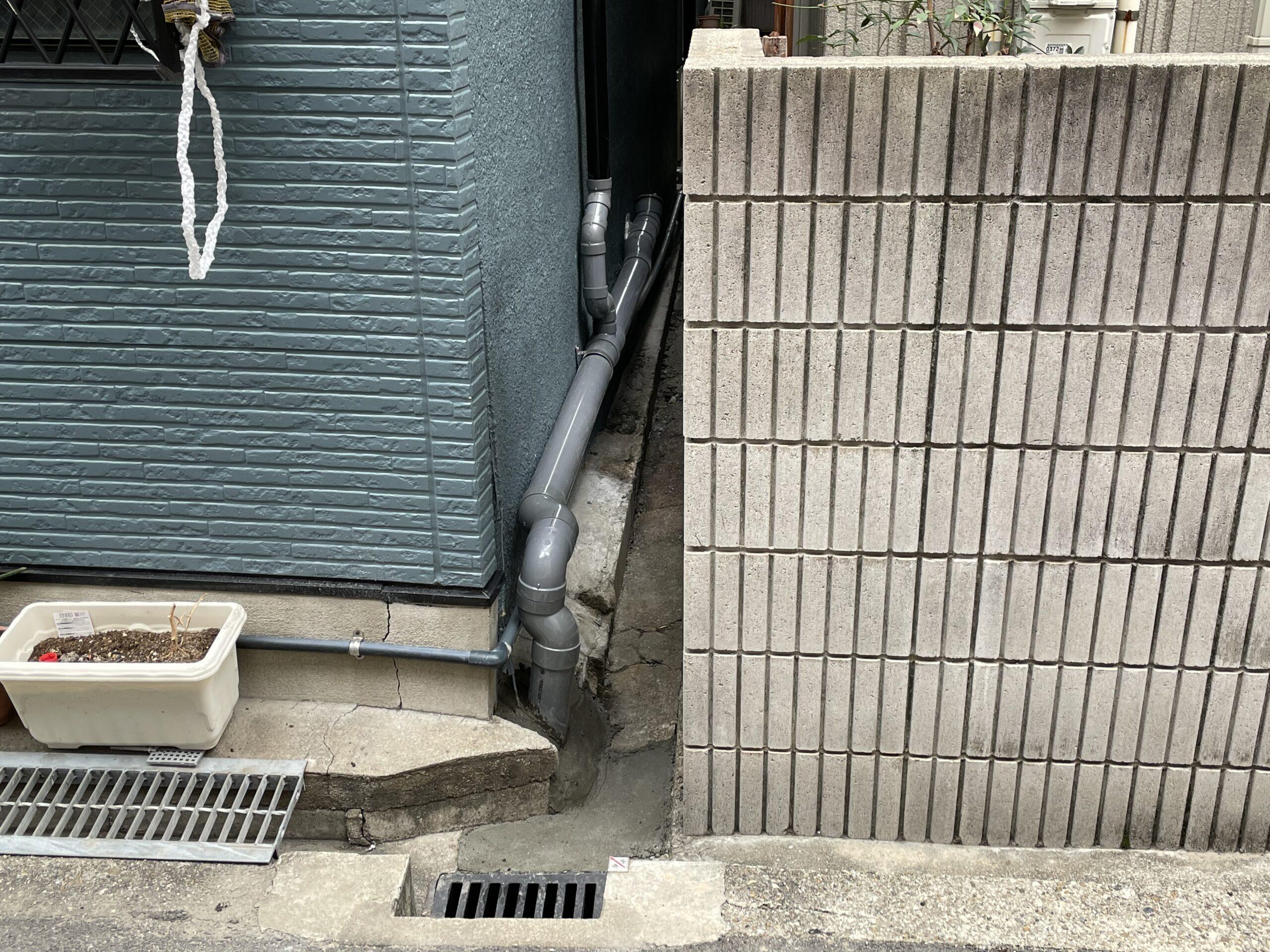 天王寺区 排水管 施工後④