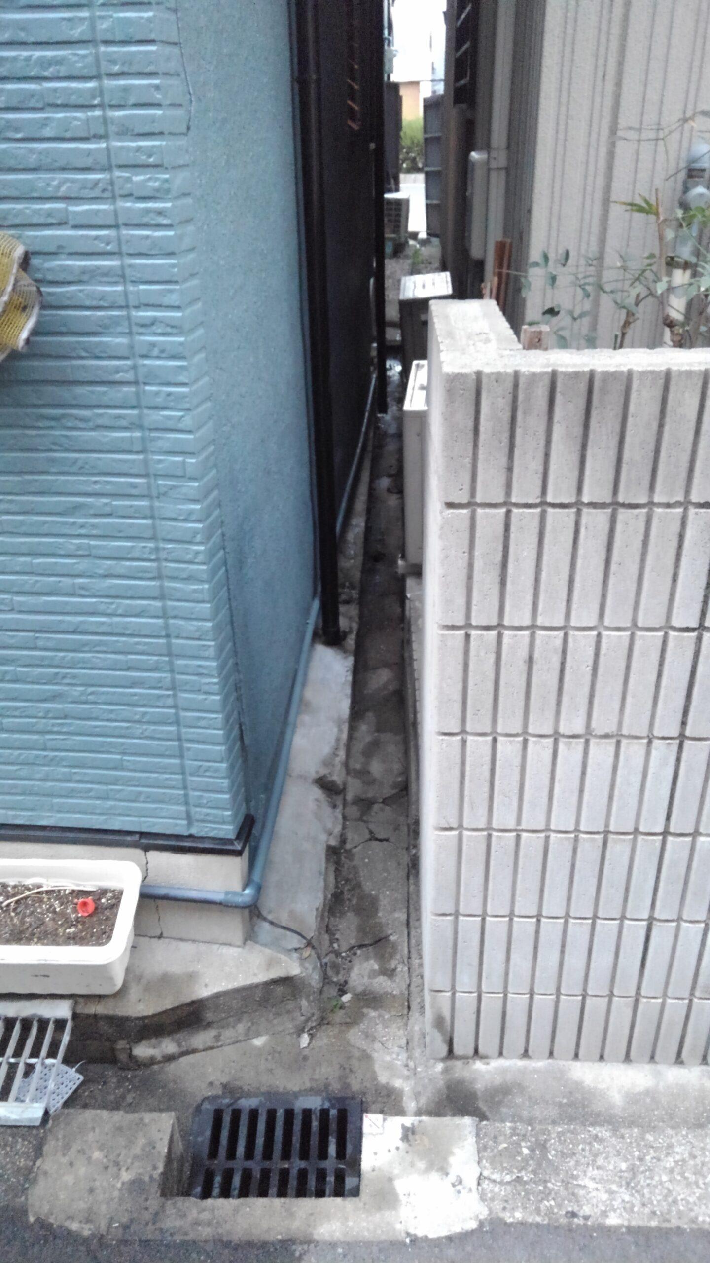 天王寺区 排水管 施工前③
