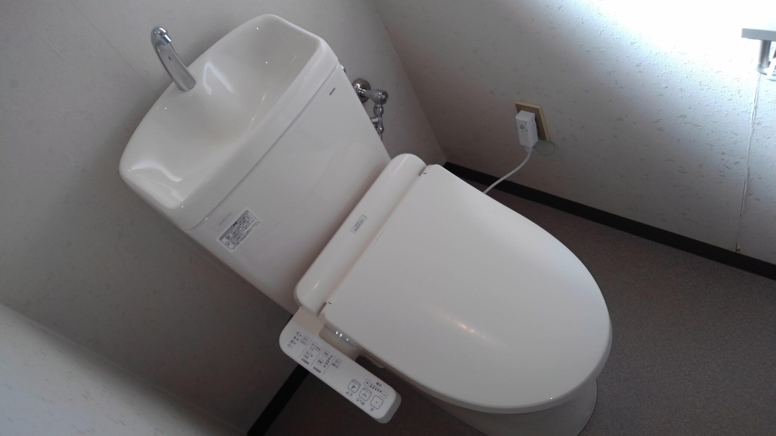 平野区 洋式トイレ 施工後③