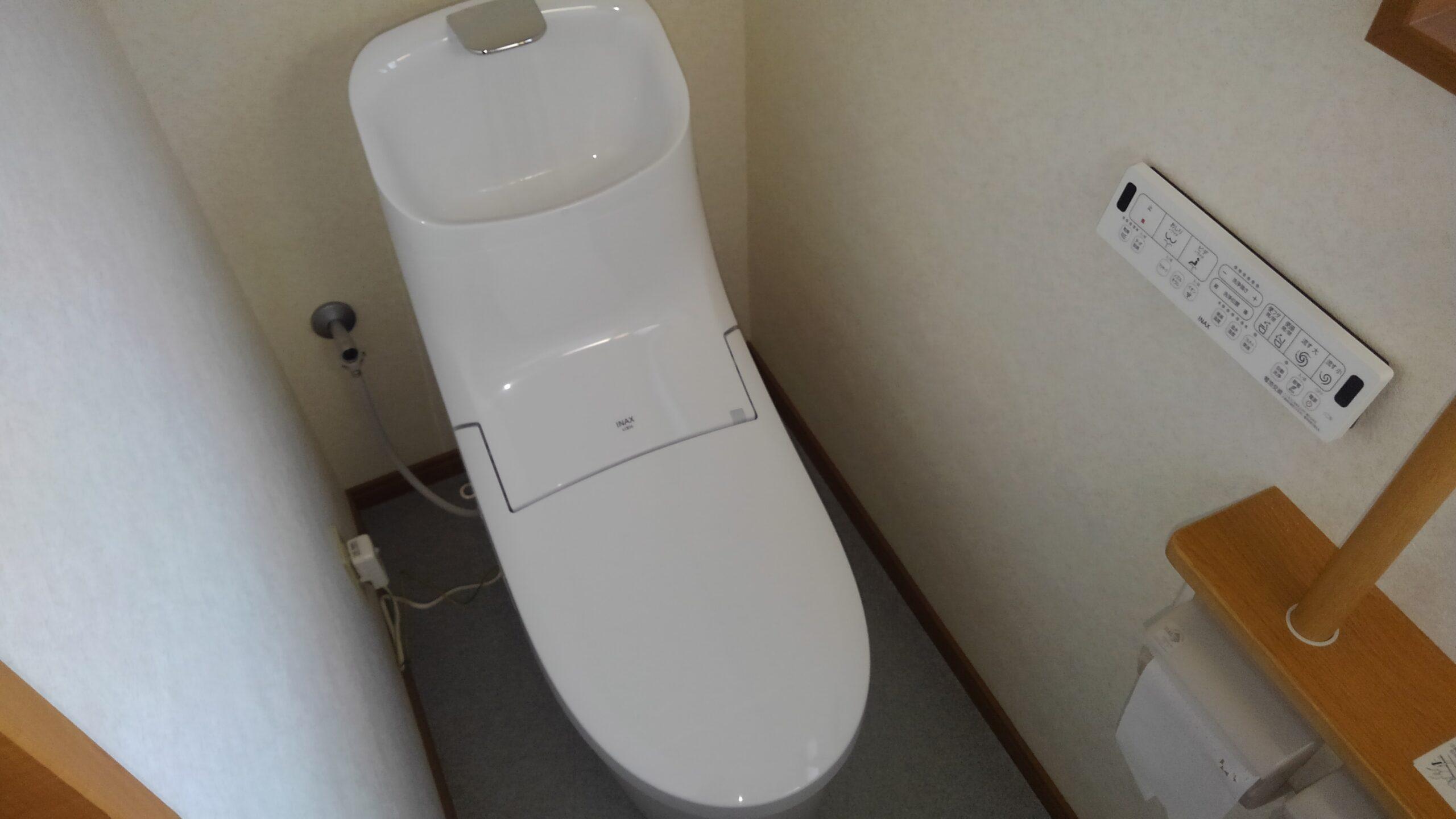 阿倍野区 一体型トイレ 施工後①