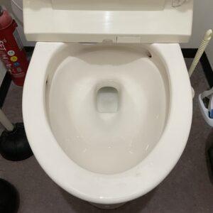 中央区 トイレ詰り 施工後①