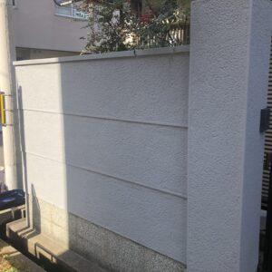 阿倍野区 外塀塗装 施工後①