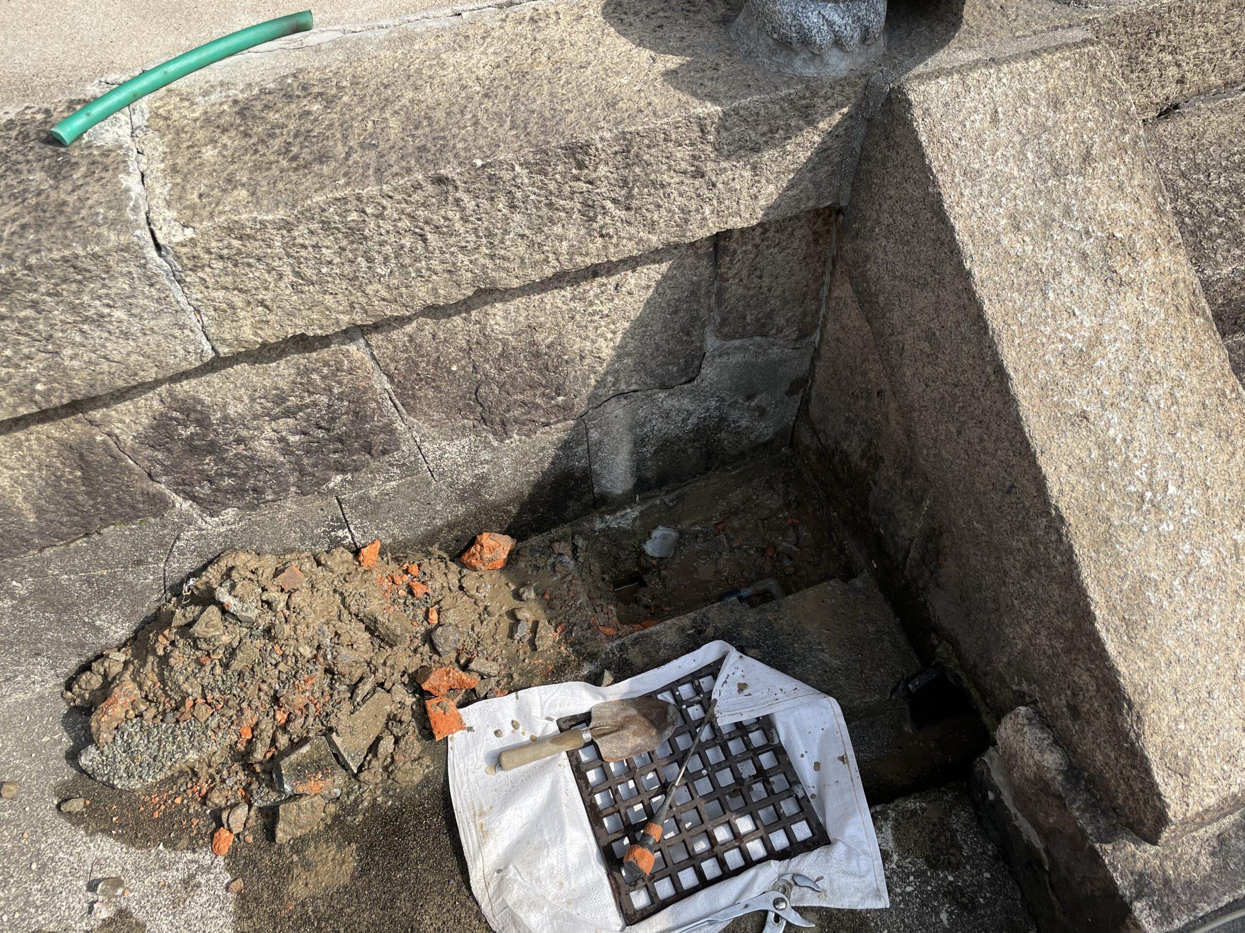 天王寺区 立水栓撤去 施工後④