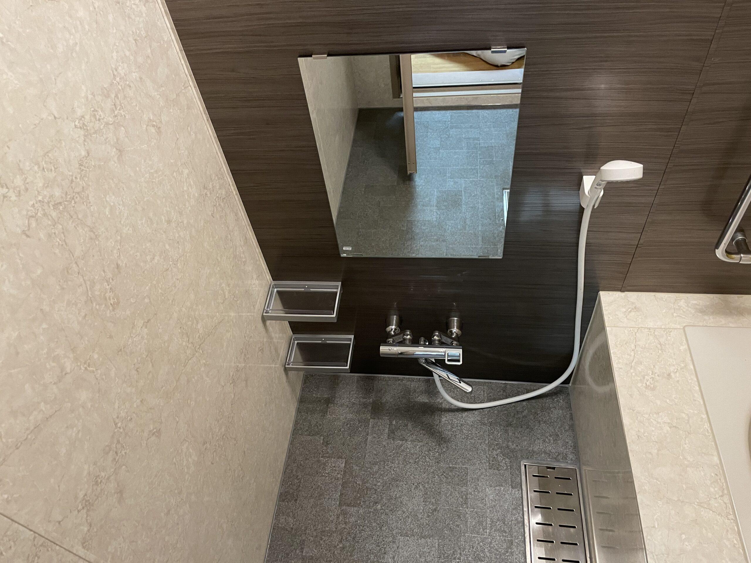 天王寺区 浴室リフォーム 施工後⑨