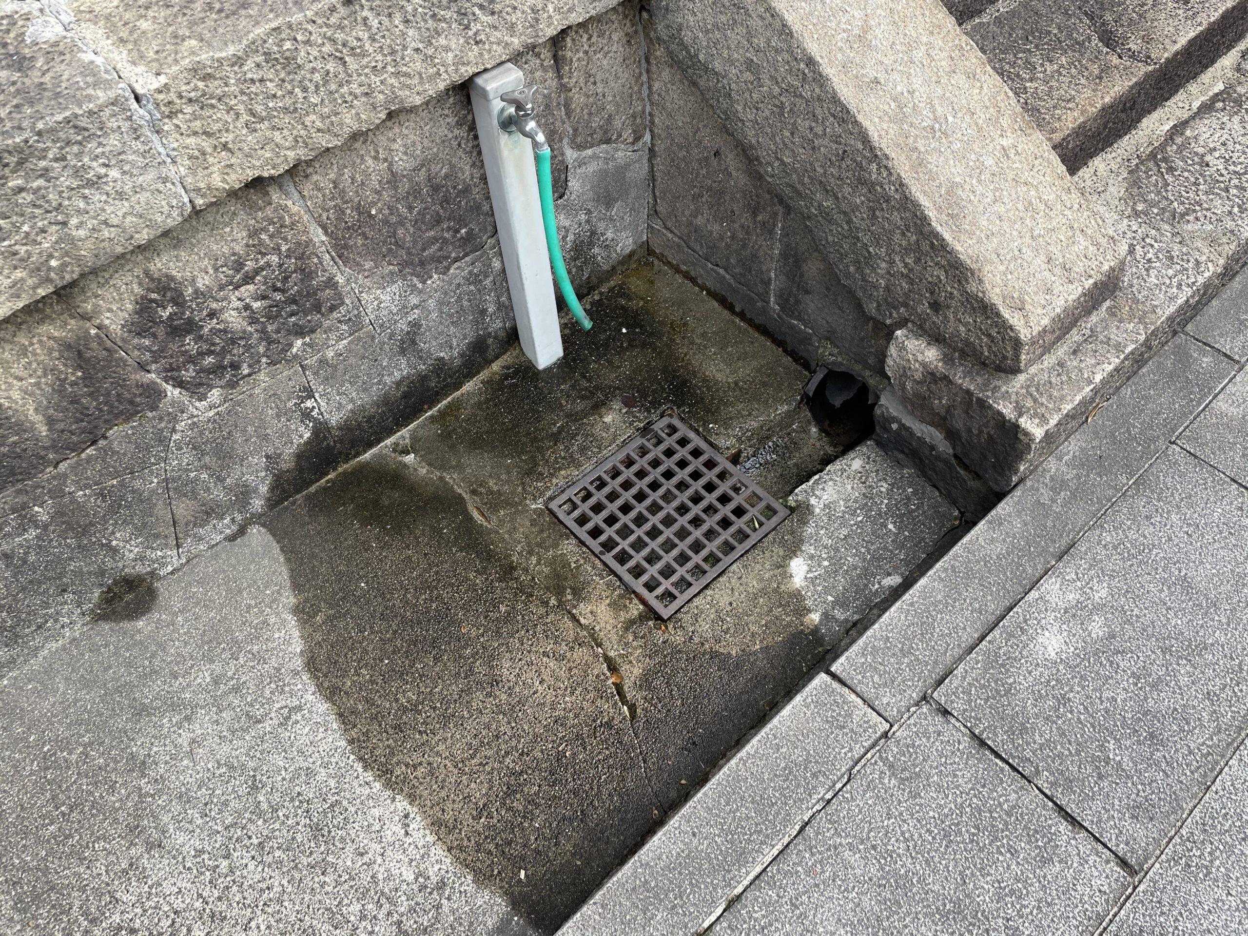 天王寺区 立水栓撤去②
