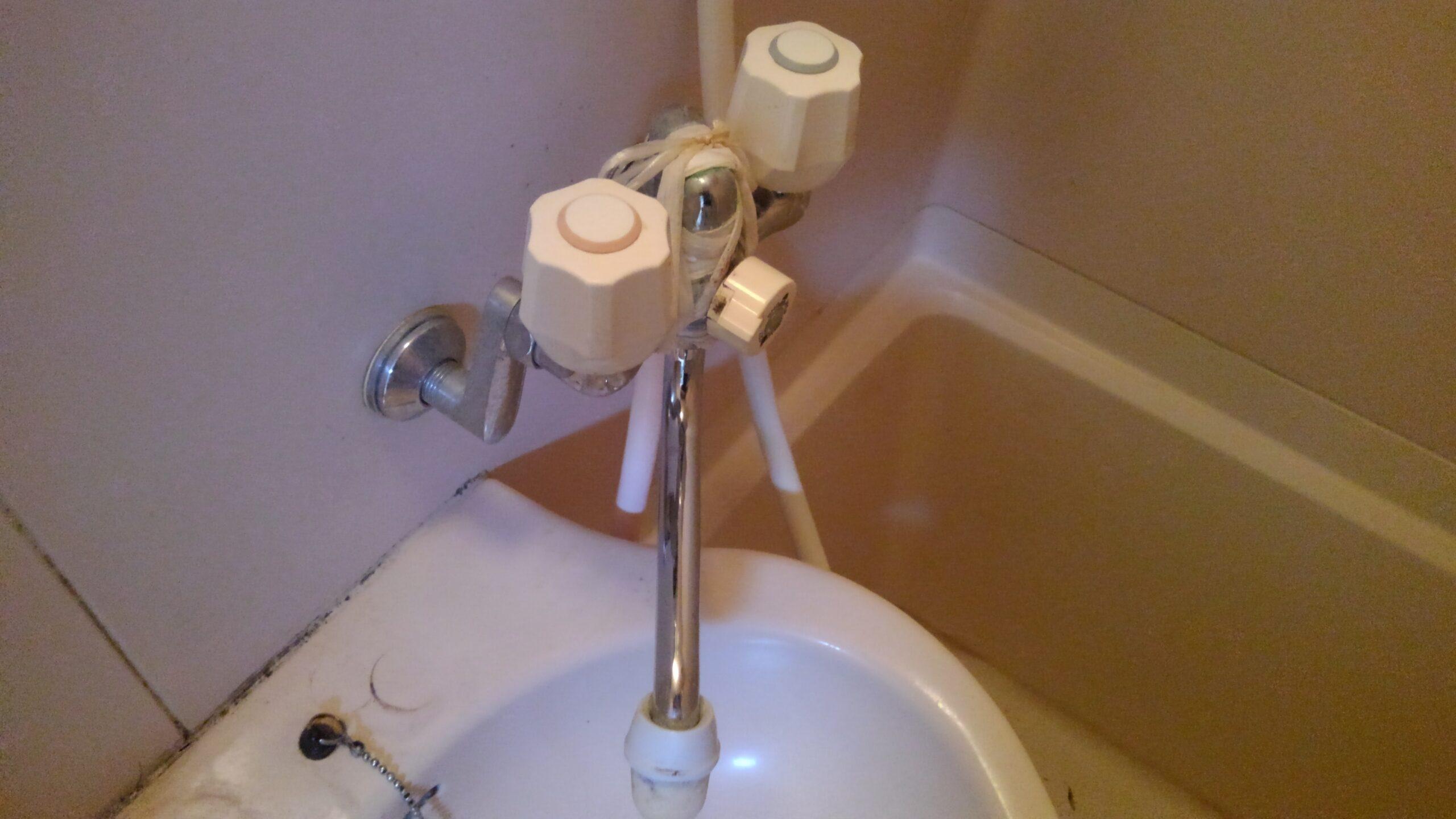 平野区 浴室用蛇口 施工前②