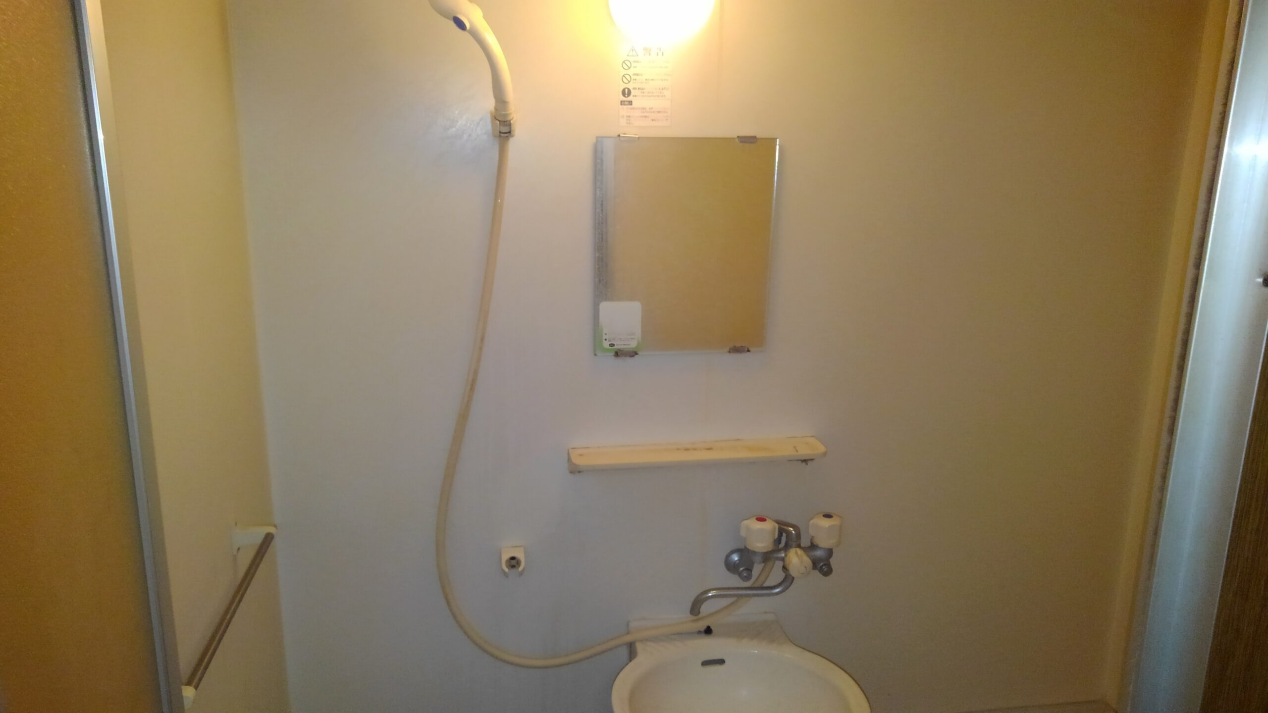 阿倍野区 浴室用蛇口 施工前②