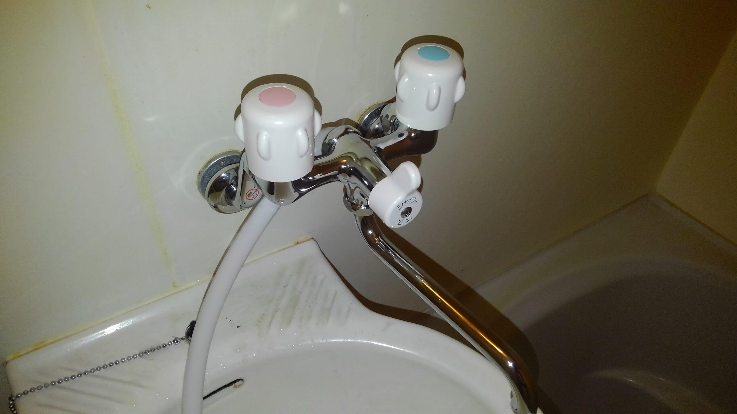 阿倍野区 浴室用蛇口 施工後①