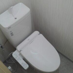 天王寺区 洋式トイレリフォーム 施工後①