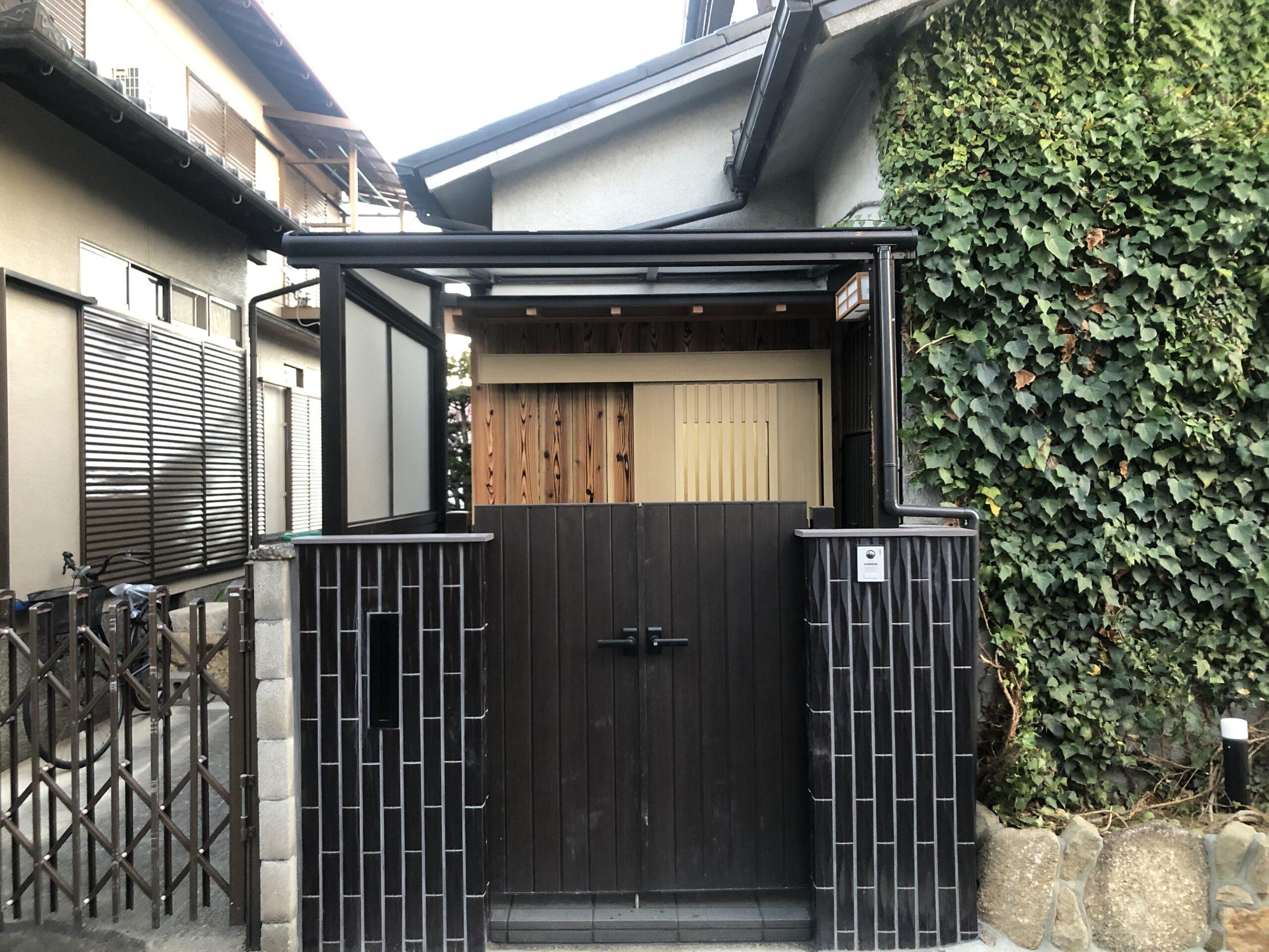 堺市西区 玄関リフォーム 施工後⑫