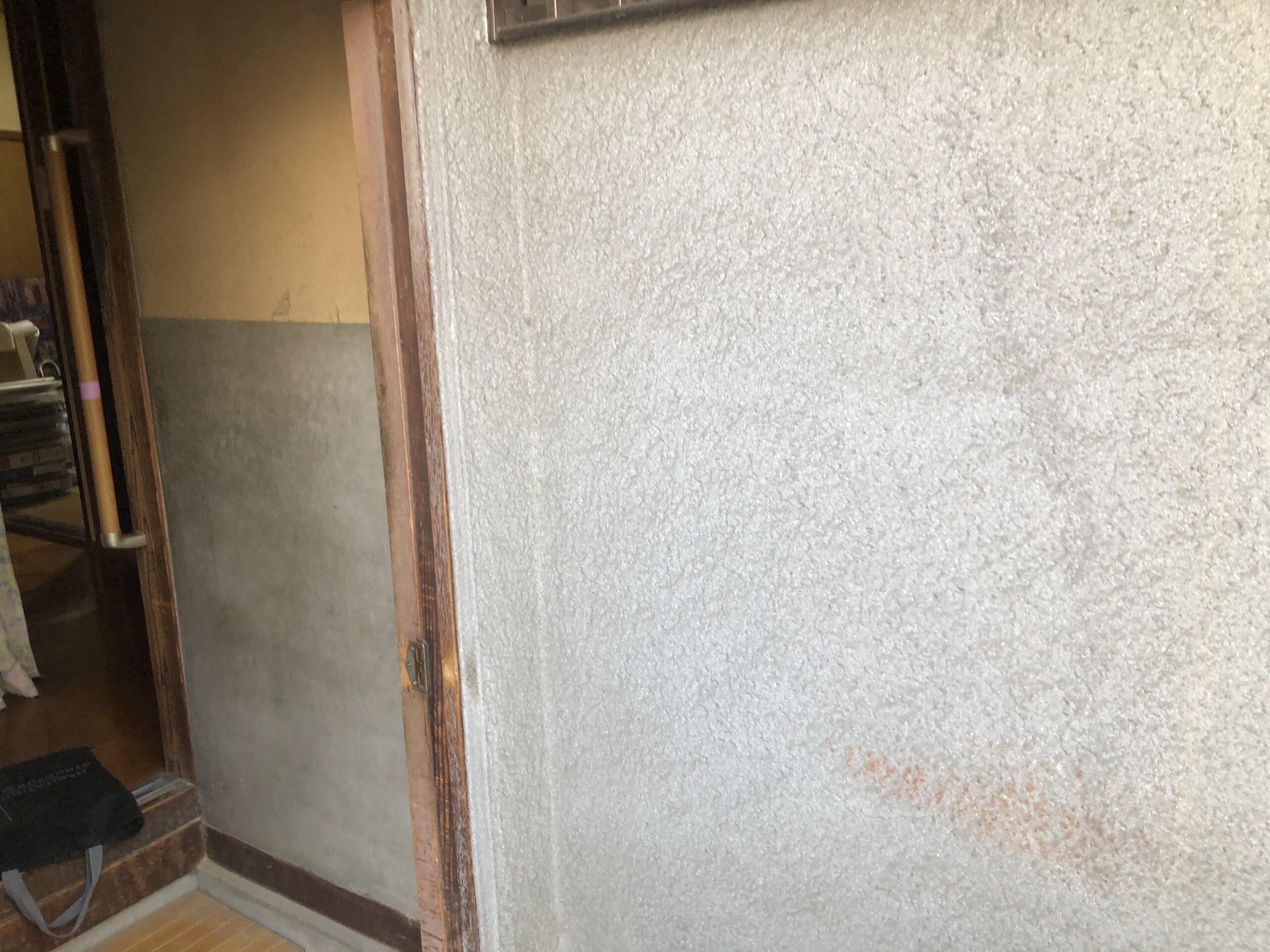 堺市西区 玄関リフォーム 施工前③