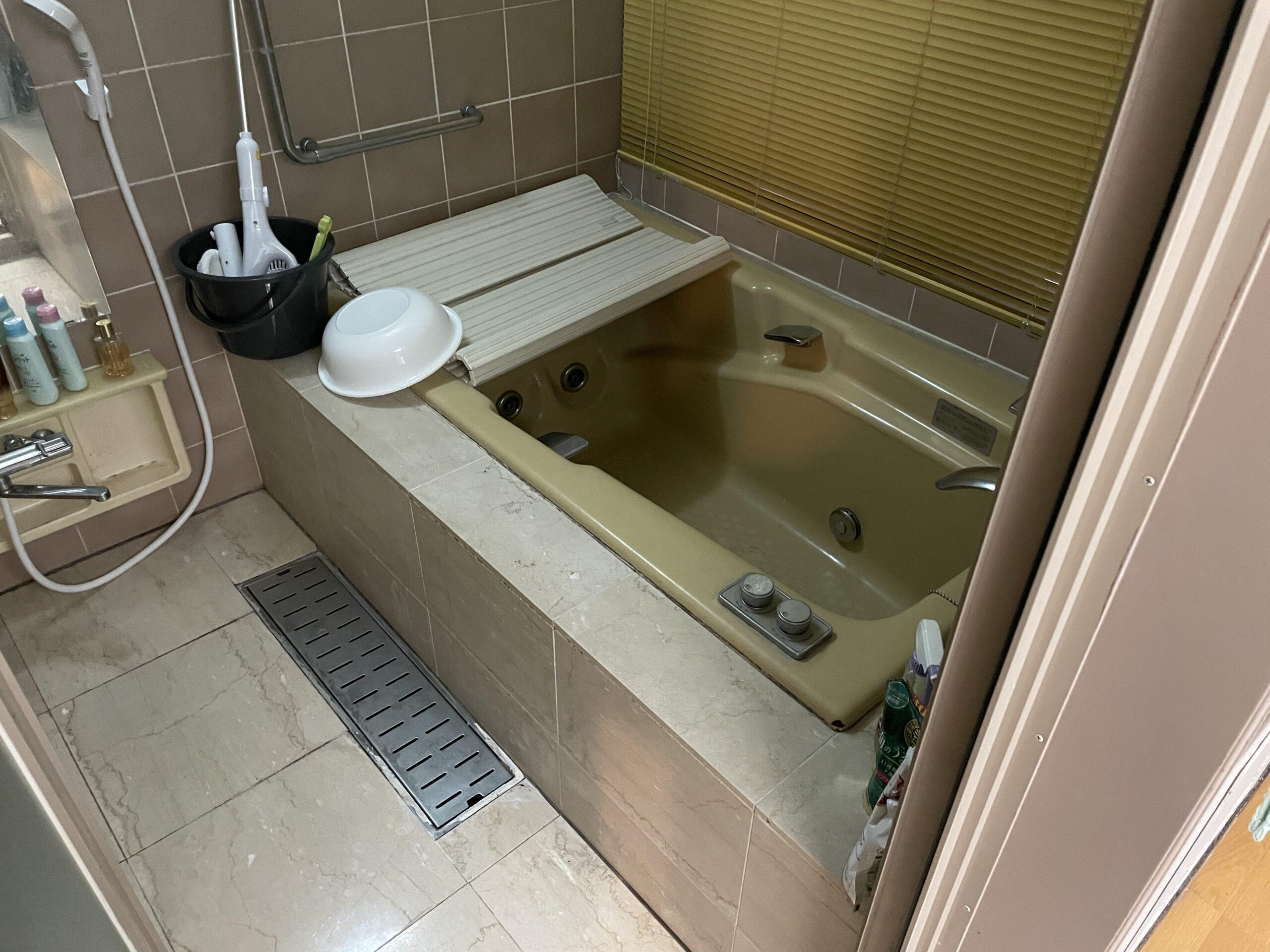 天王寺区 浴室リフォーム 施工前①