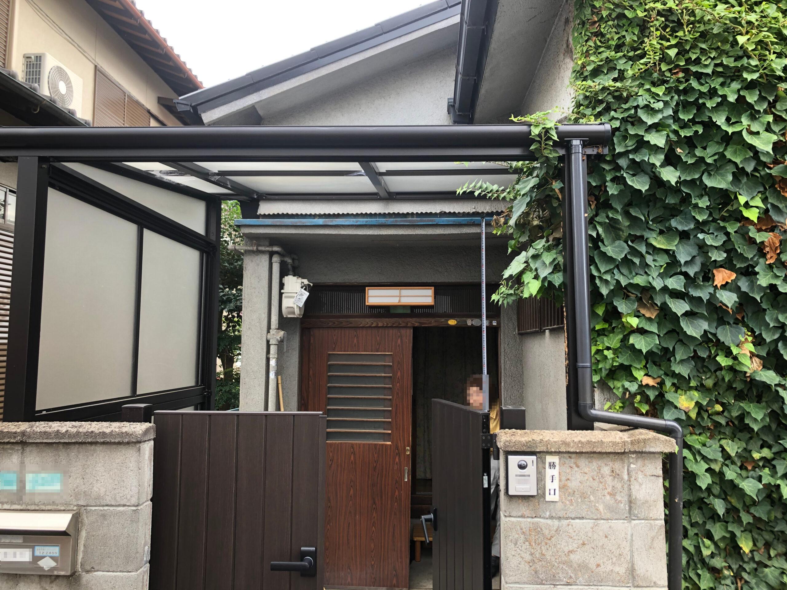 堺市西区 玄関リフォーム 施工前⑩