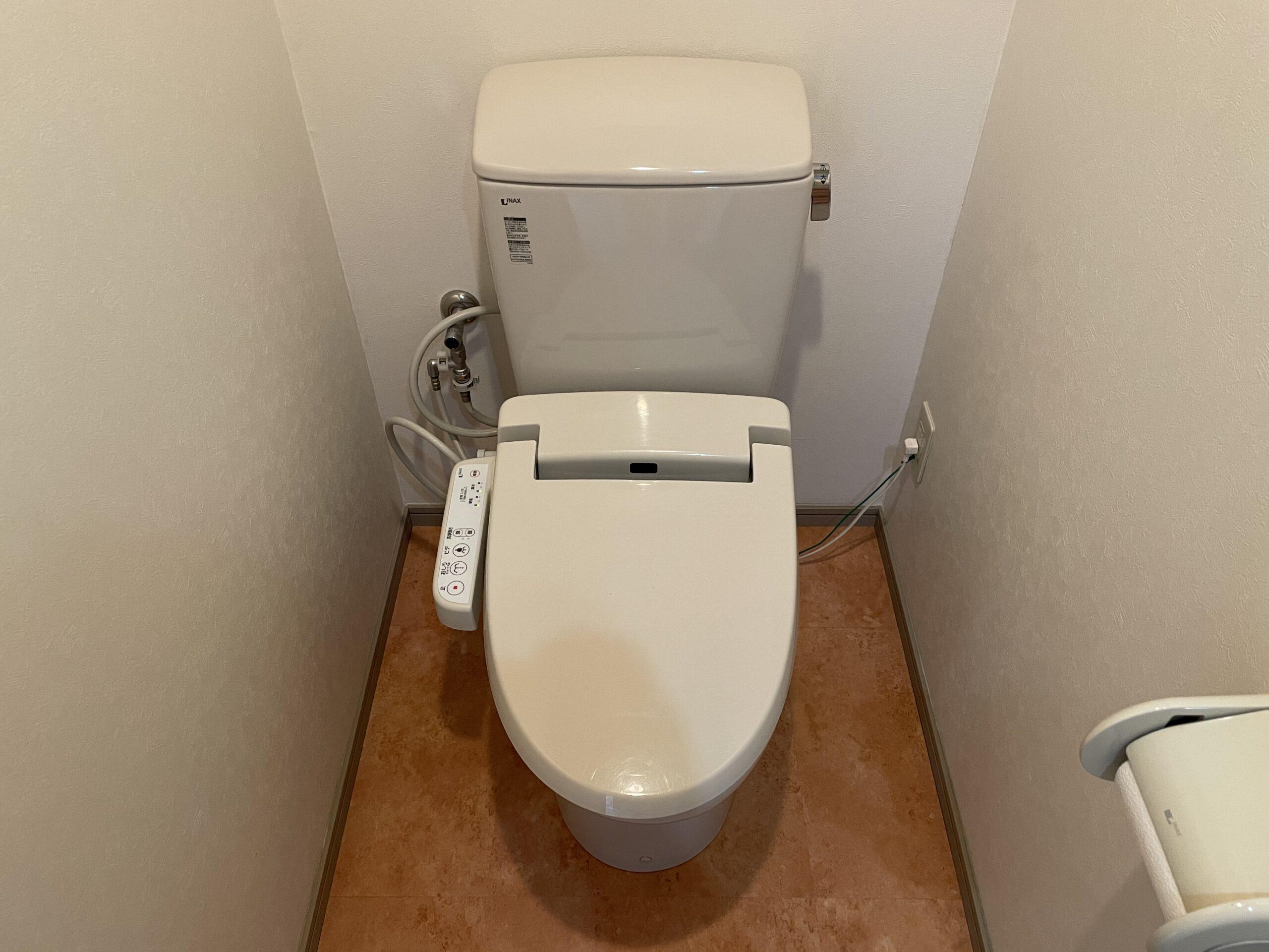 中央区 洋式トイレ 施工前①
