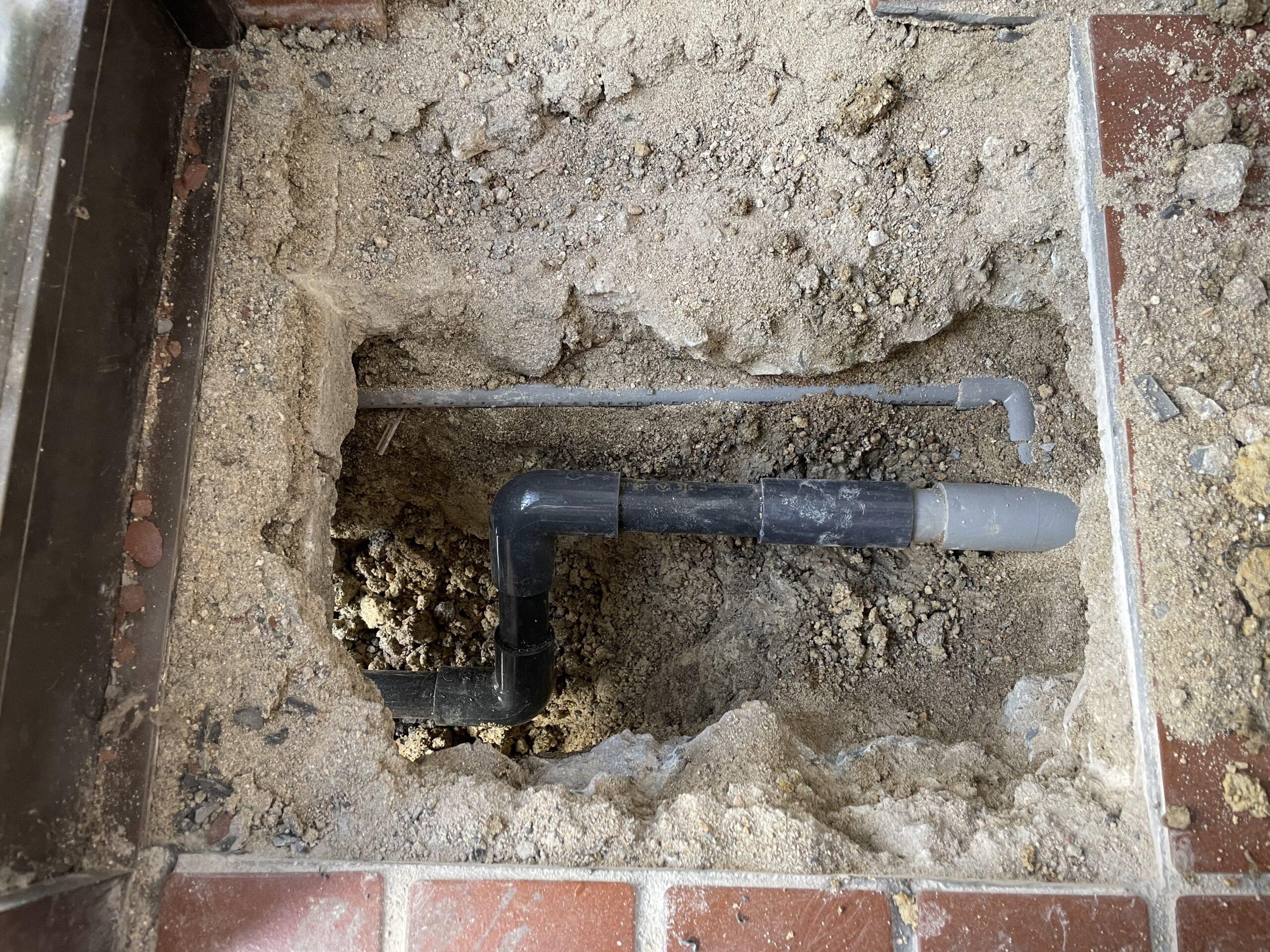 天王寺区 水漏れ修理 施工後④