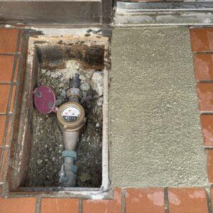 天王寺区 水漏れ修理 施工後①