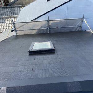 阿倍野区 屋根塗装 施工後①