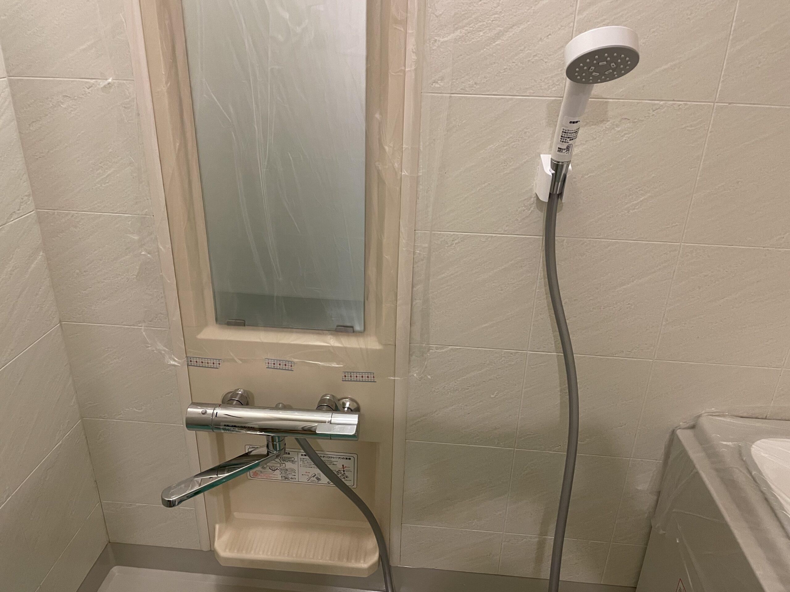中央区 浴室用蛇口 施工後②