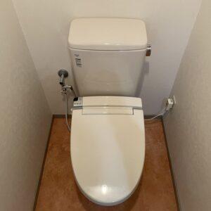 中央区 洋式トイレ 施工後①