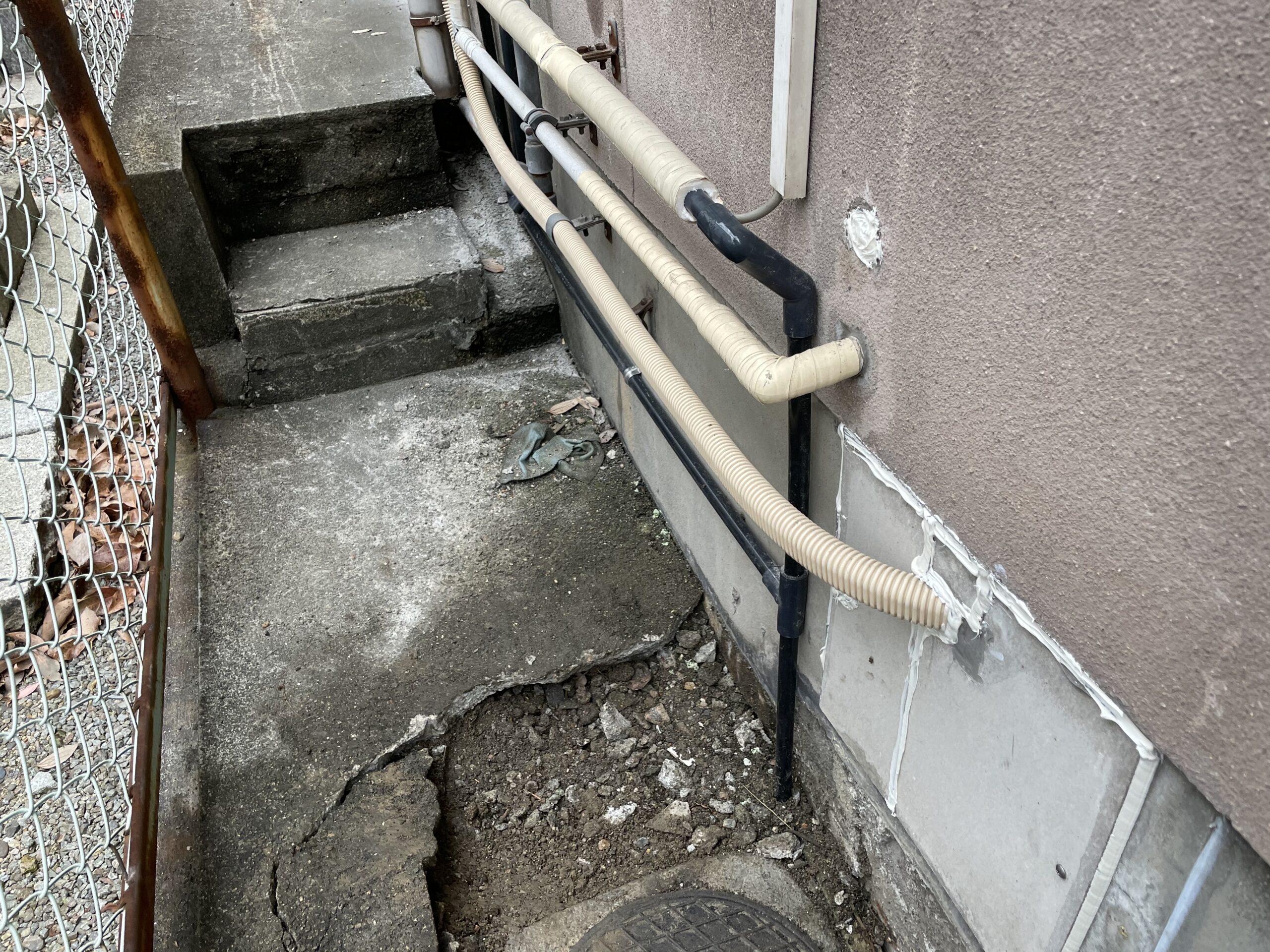 天王寺区 水漏れ修理 施工後②