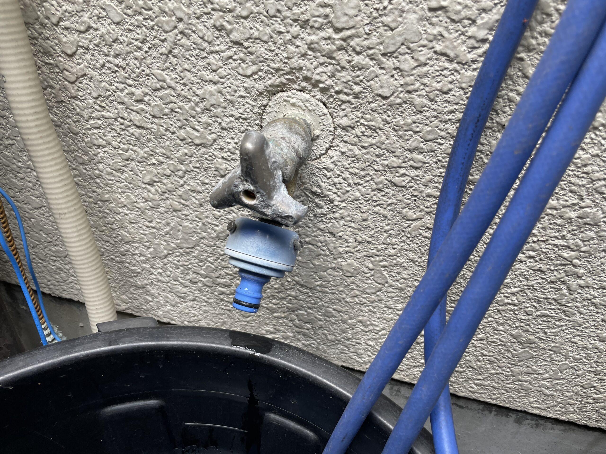阿倍野区 散水栓 施工前①