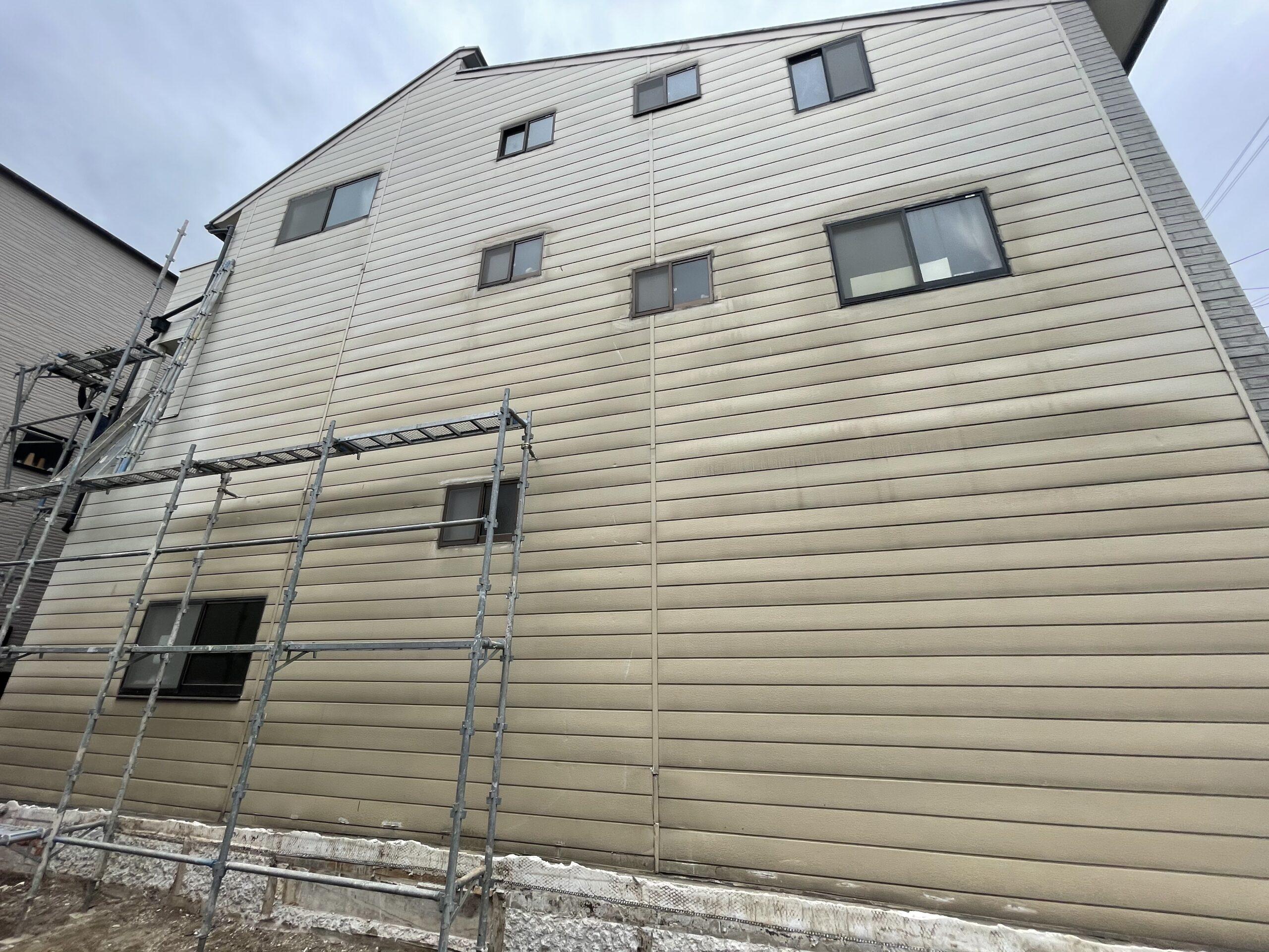 東住吉区 外壁塗装 施工前①