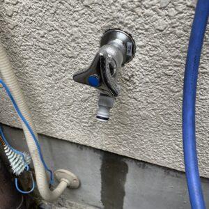 阿倍野区 散水栓 施工後①