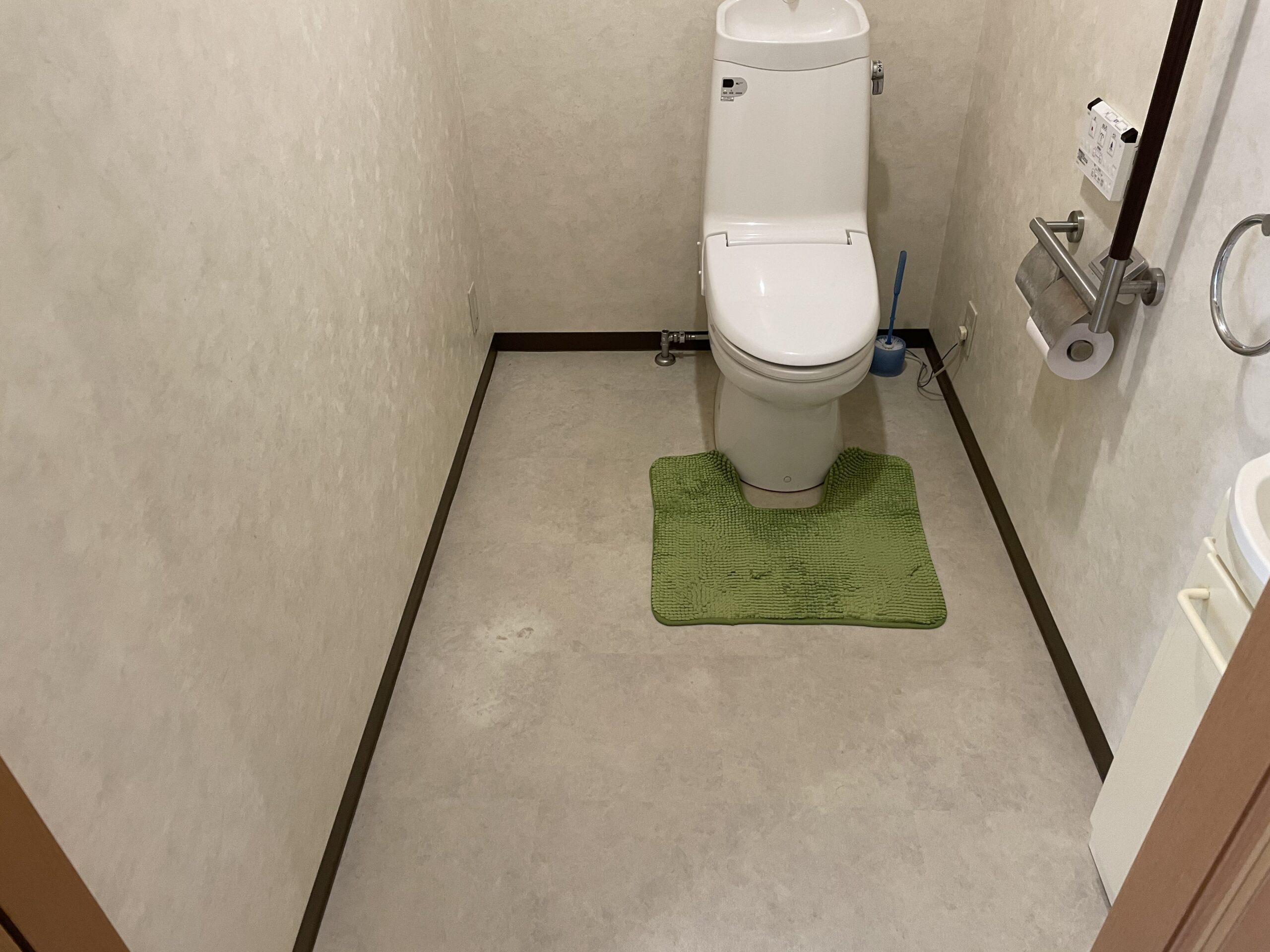 阿倍野区 洋式トイレ 施工前②