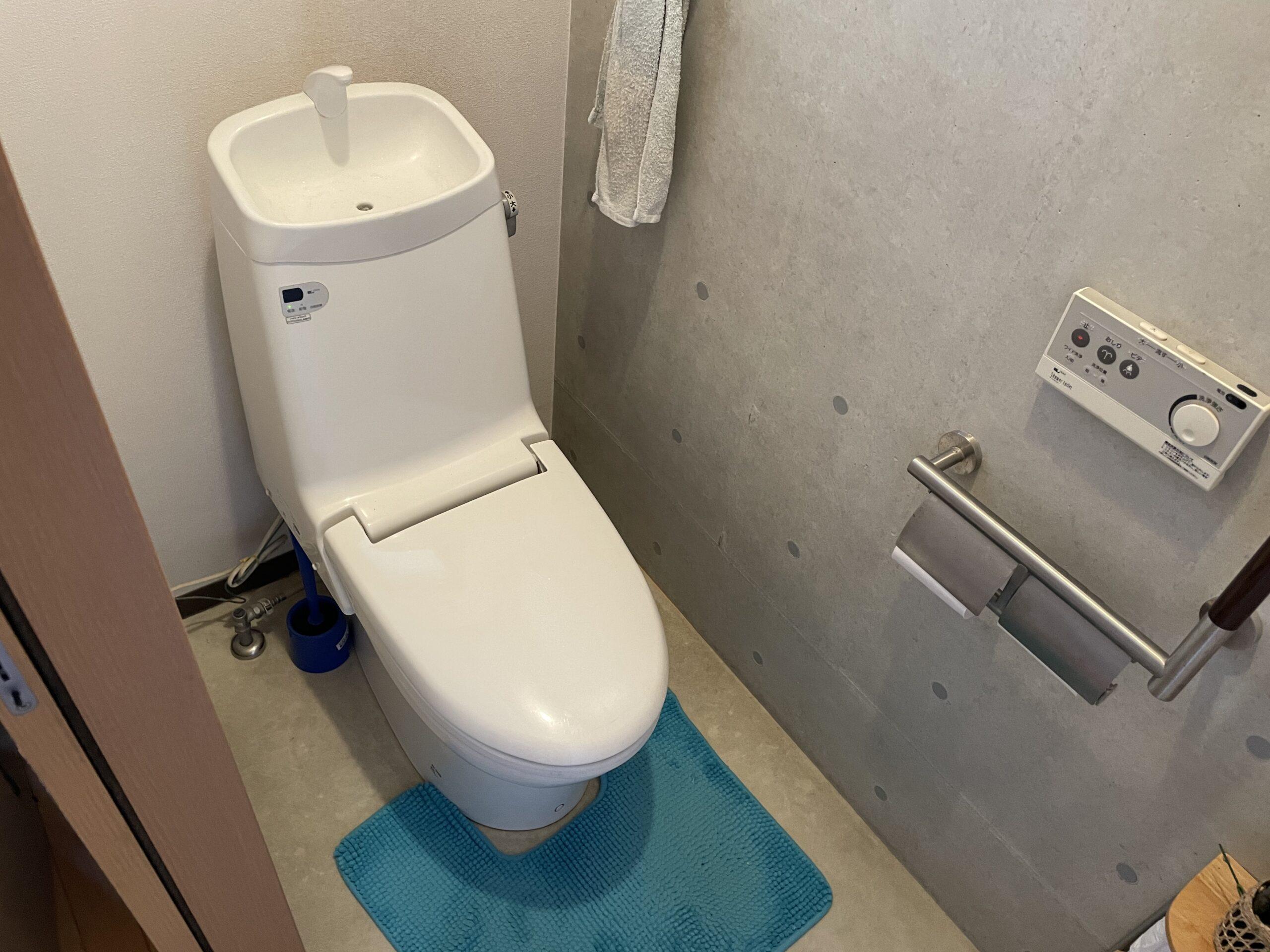 阿倍野区 洋式トイレ 施工前①
