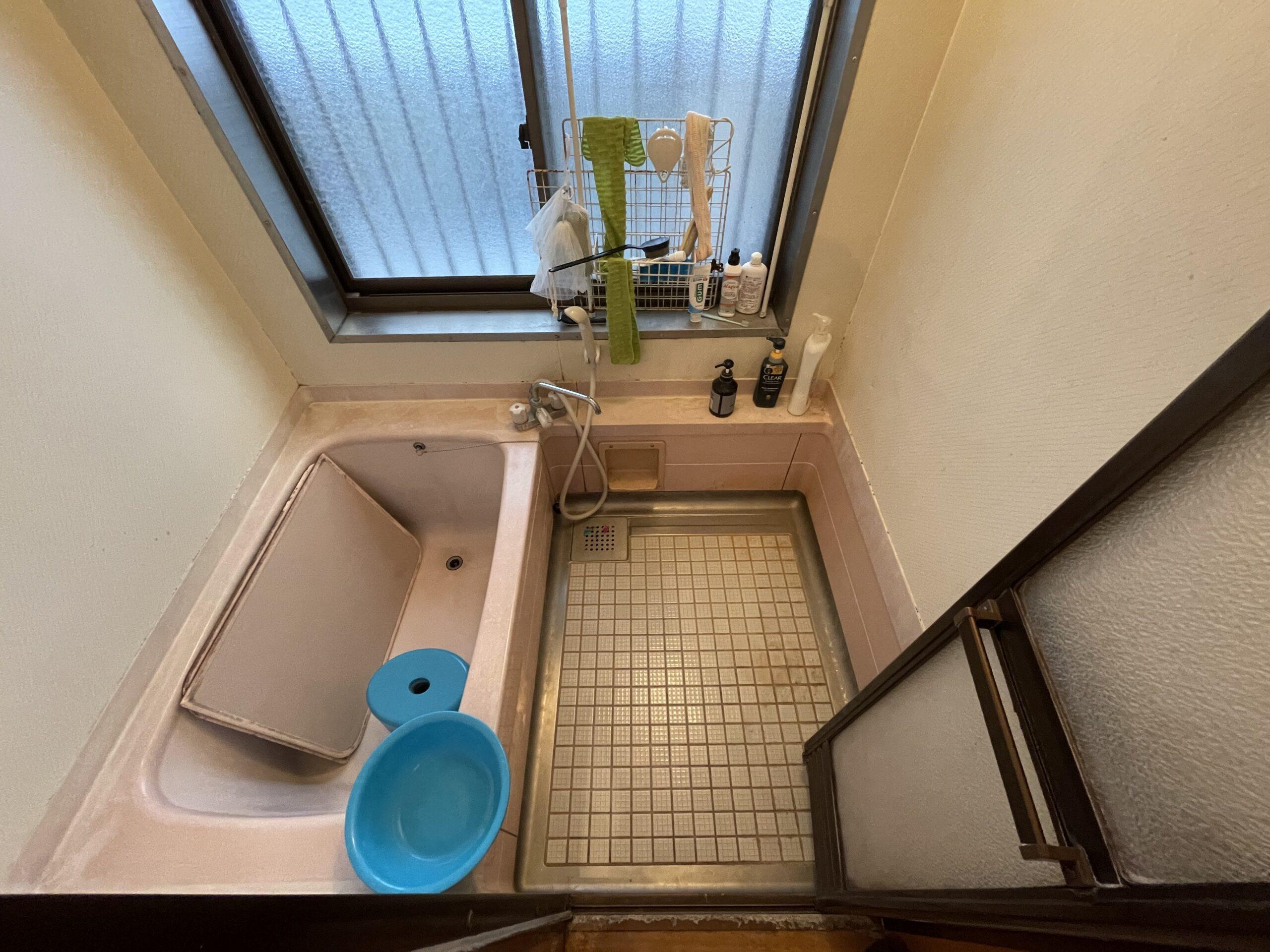 阿倍野区 浴室リフォーム 施工前①