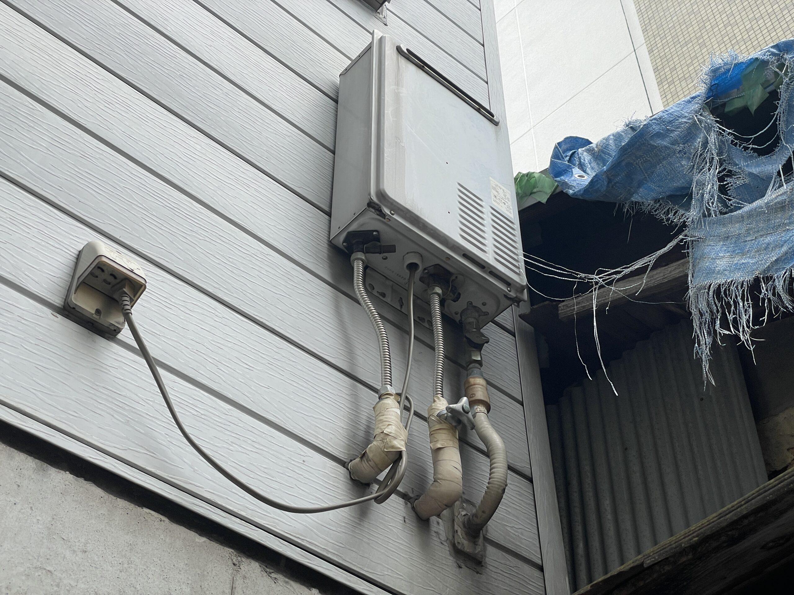 阿倍野区 給湯器 施工前①