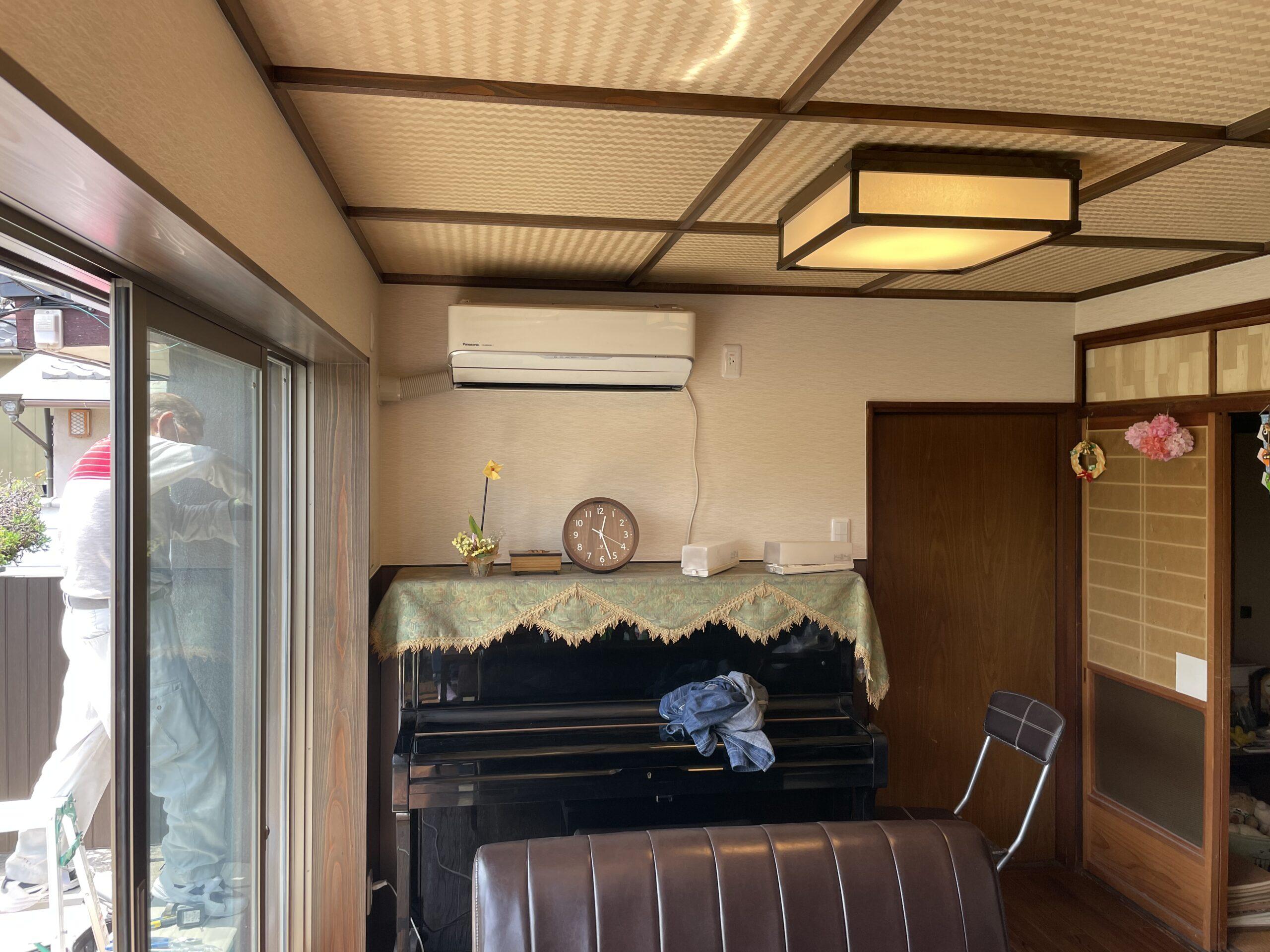 堺市西区 応接室改修 施工後①