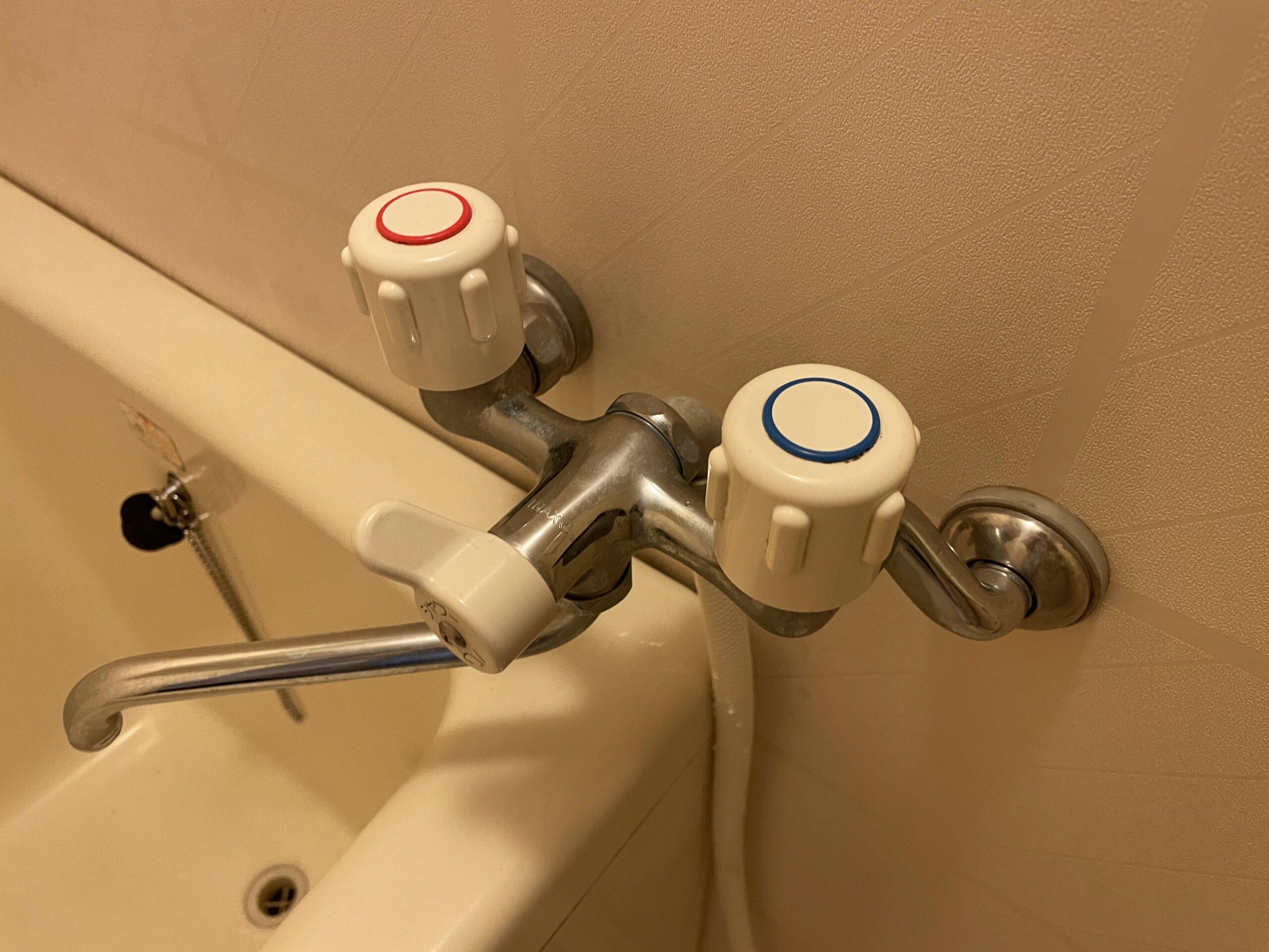 天王寺区 浴室用蛇口 施工前②