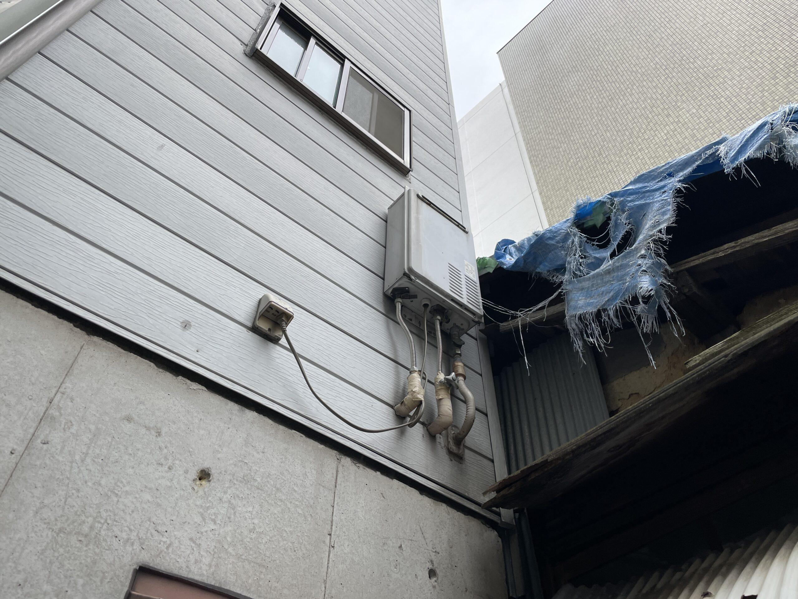 阿倍野区 給湯器 施工前②